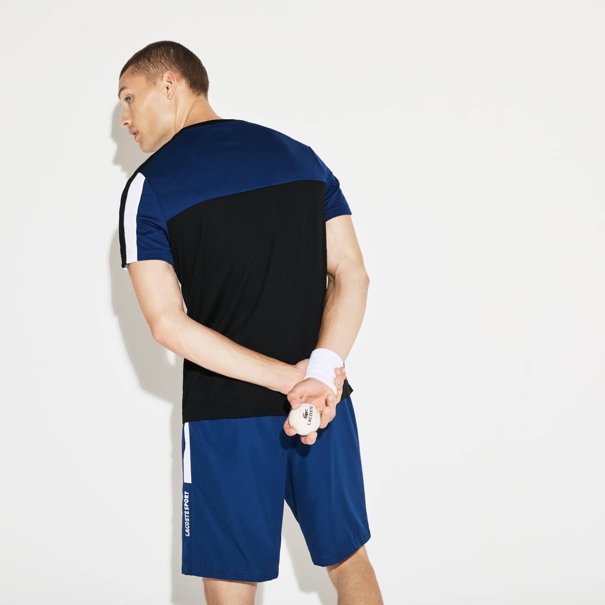 Lacoste - Herren LACOSTE SPORT Rundhals Tennis T-Shirt mit Colorblocks - 2