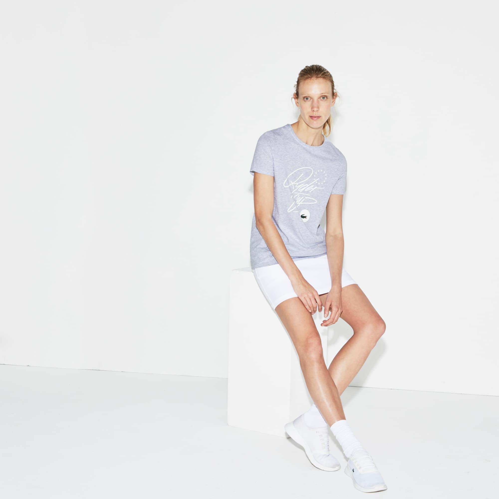 Damen LACOSTE SPORT Ryder Cup Edition Golf Jersey T-Shirt