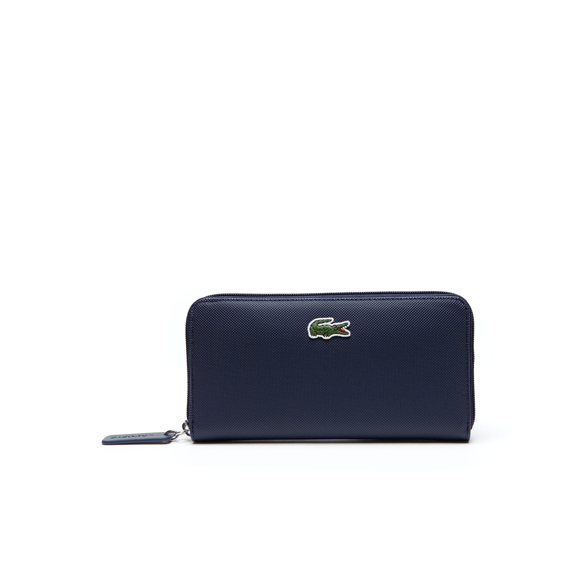 Damen-Brieftasche L.12.12 CONCEPT aus Petit Piqué