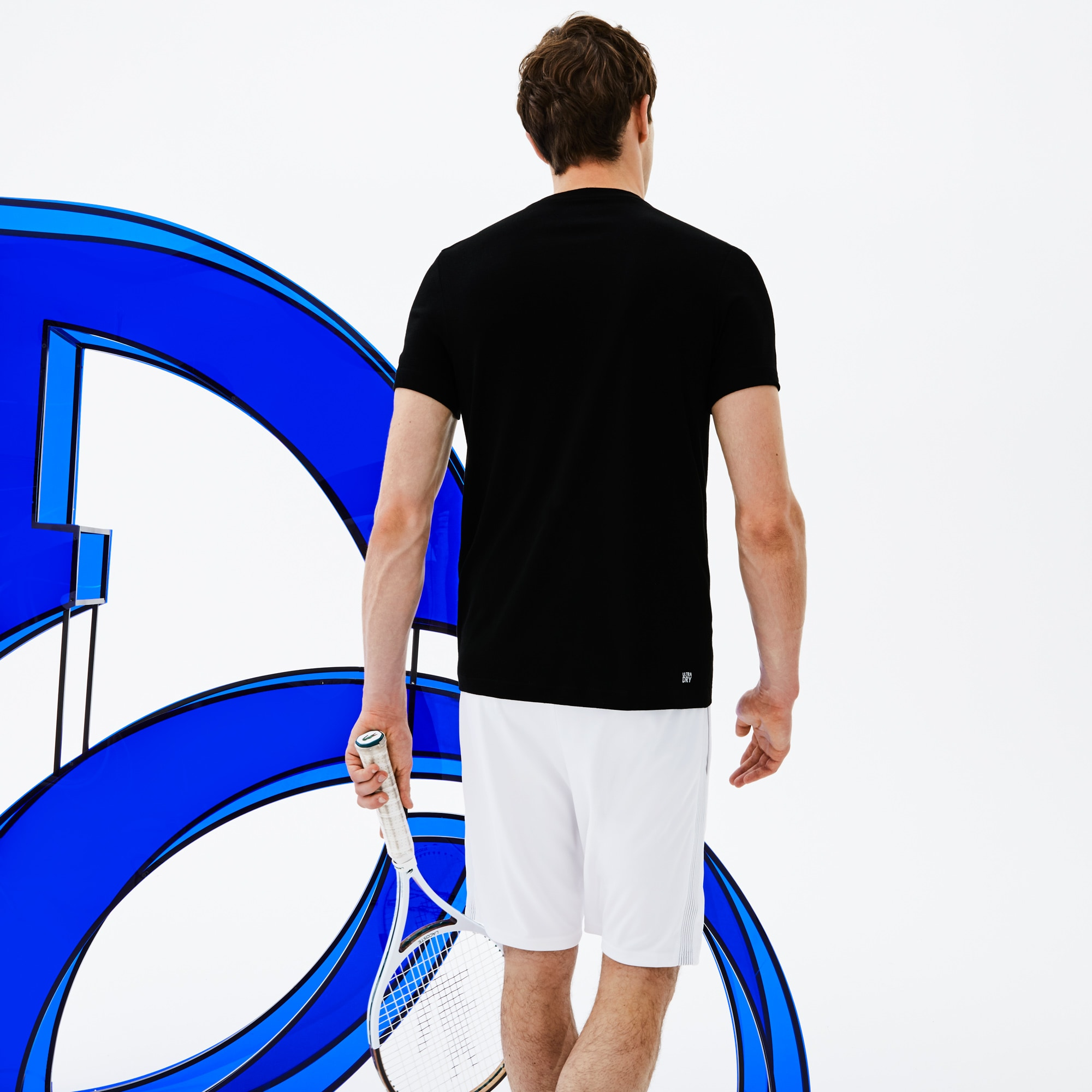 Lacoste - Herren Rundhals-T-Shirt aus Jersey mit Schriftzug LACOSTE SPORT - 2
