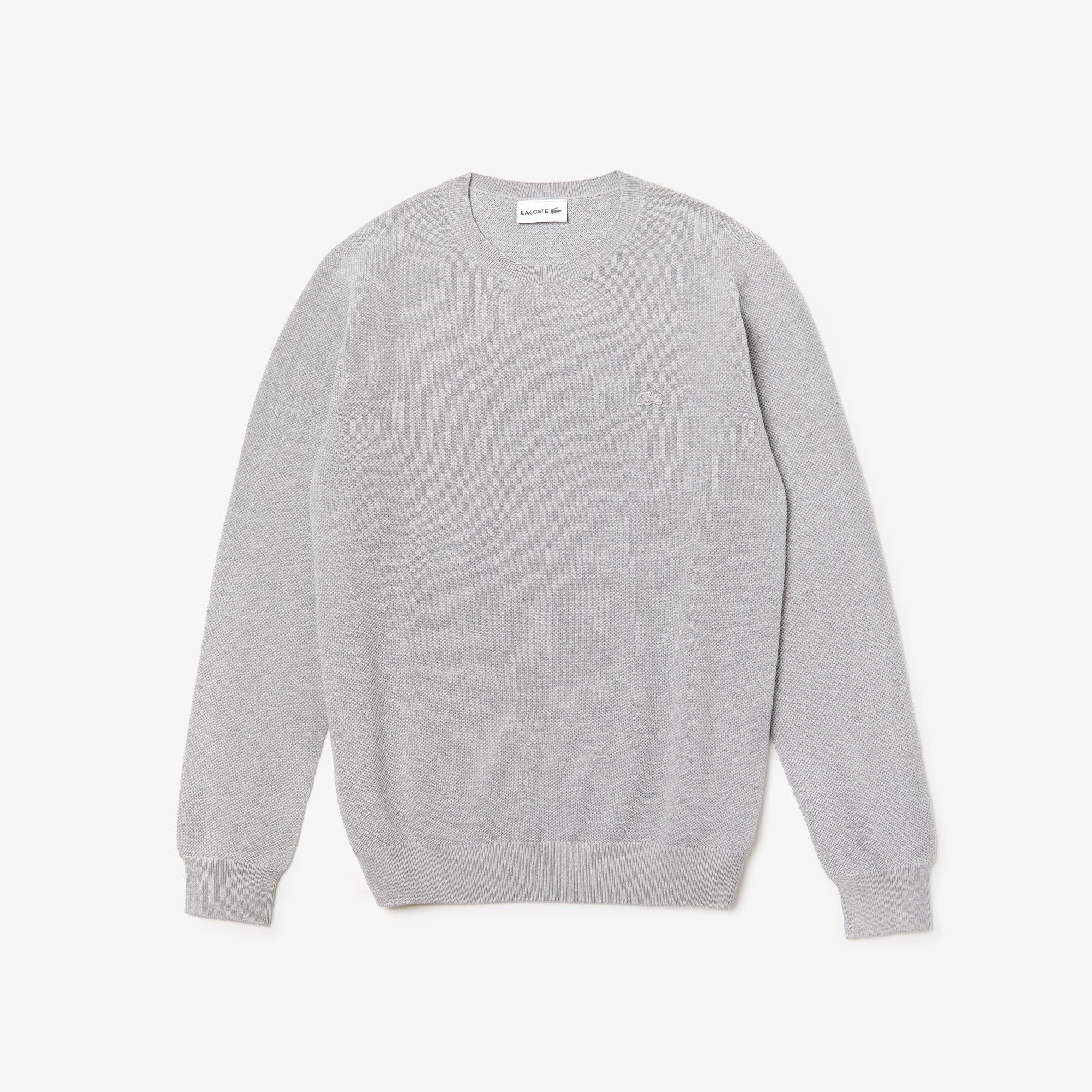 Lacoste - Herren-Rundhals-Pullover aus Baumwoll-Piqué - 3
