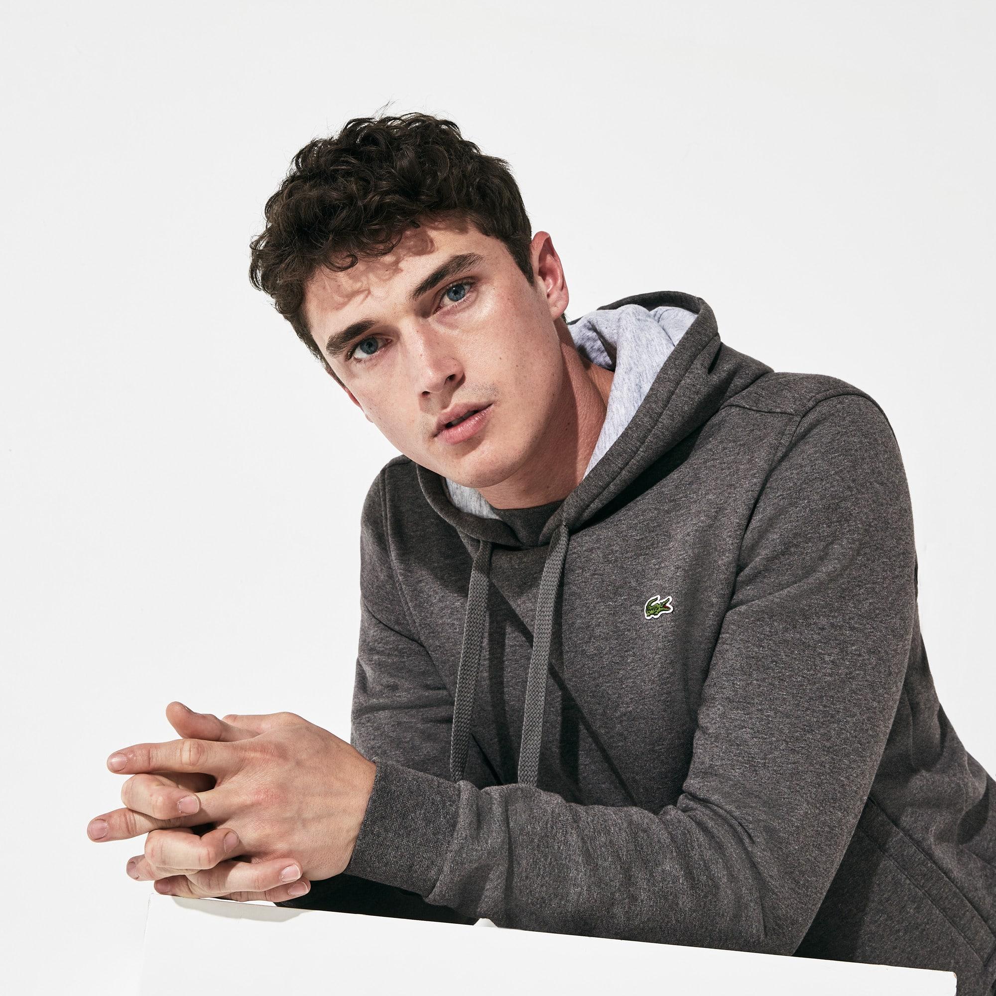 Herren-Sweatshirt aus Fleece mit Kapuze LACOSTE SPORT TENNIS