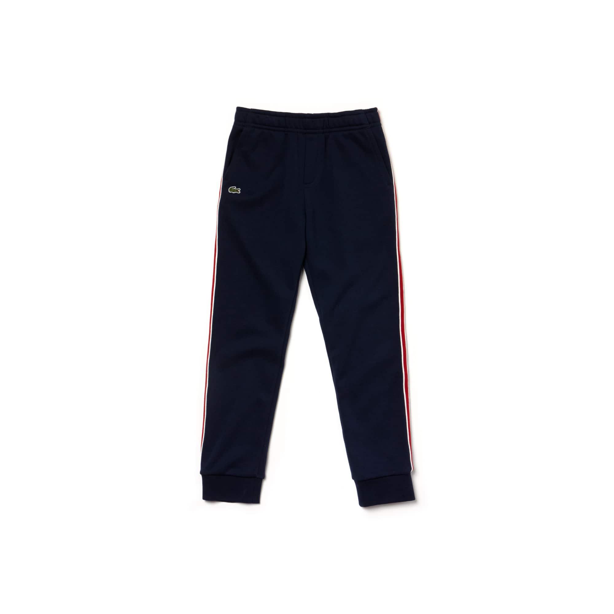 Lacoste - Jungen-Jogginghose mit seitlichen Streifen aus Fleece - 2
