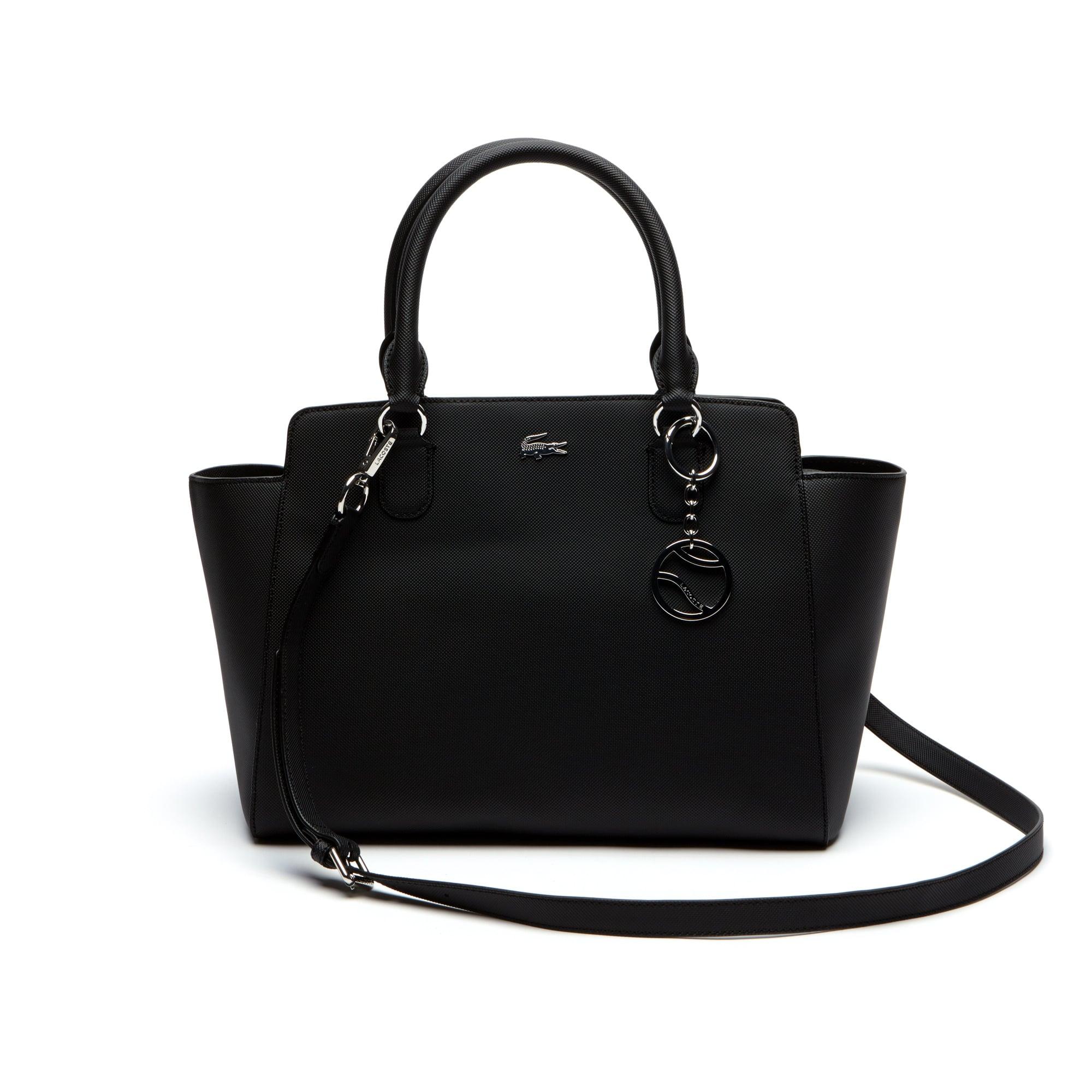 Damen-Tote-Bag DAILY CLASSIC aus beschichtetem Piqué-Canvas