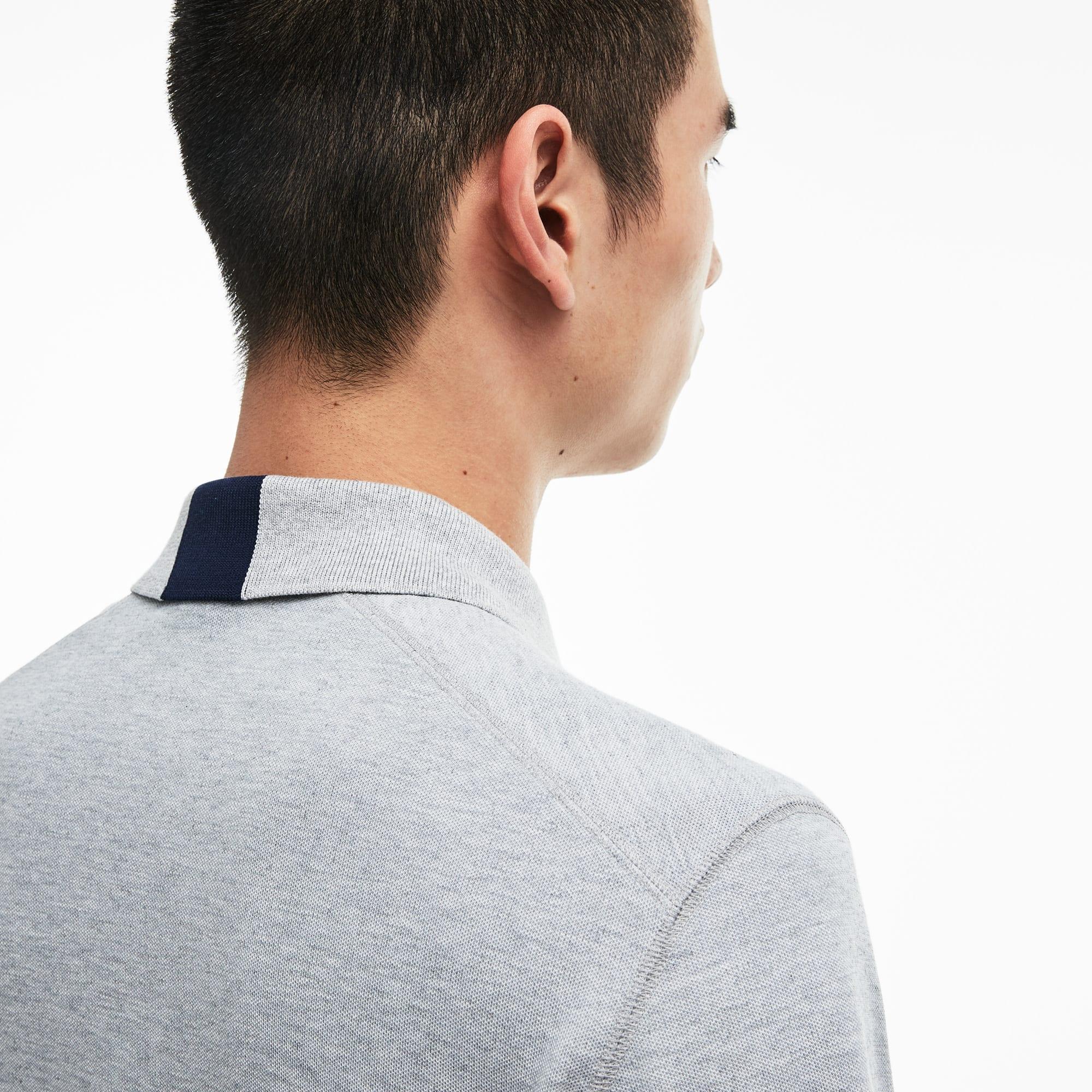 Lacoste - LACOSTE Regular Fit Herren-Poloshirt aus funktionellem Petit-Piqué - 4