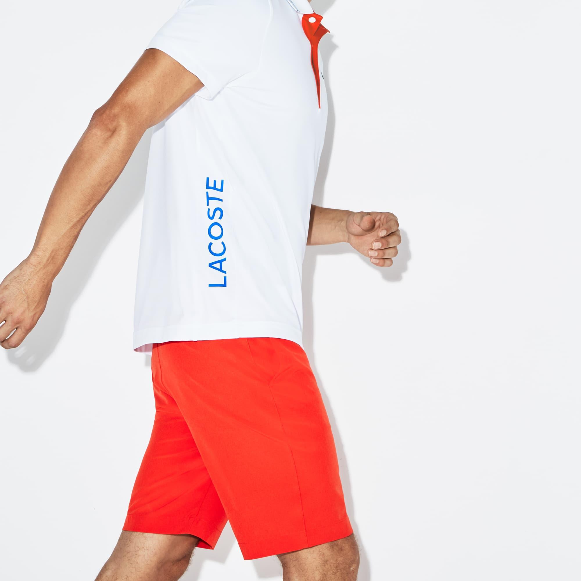 Lacoste - Herren LACOSTE SPORT Stretch Golf-Poloshirt mit Schriftzug - 2