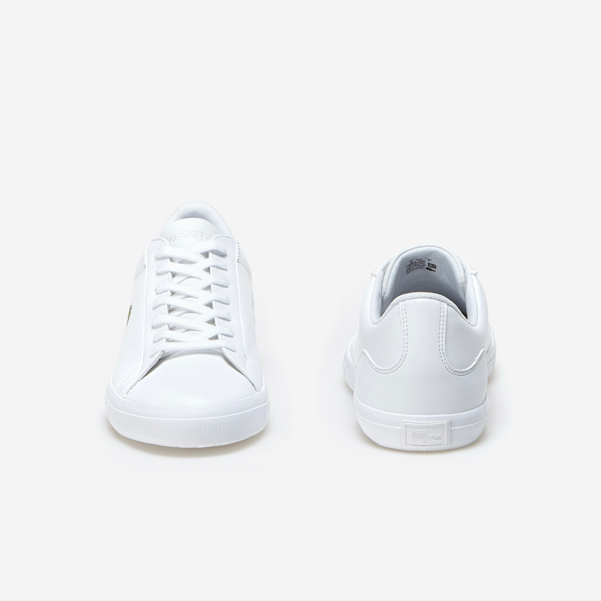 Lacoste - Herren-Sneakers LEROND aus einfarbigem Leder - 5