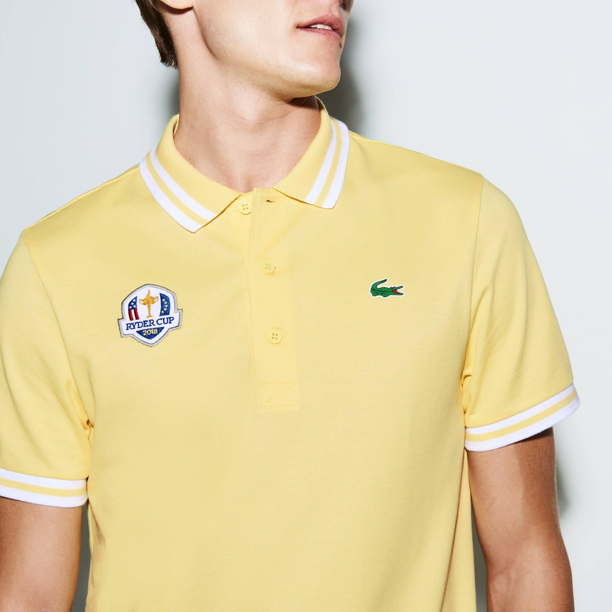 Lacoste - Herren LACOSTE SPORT Ryder Cup Edition Golf Poloshirt - 4