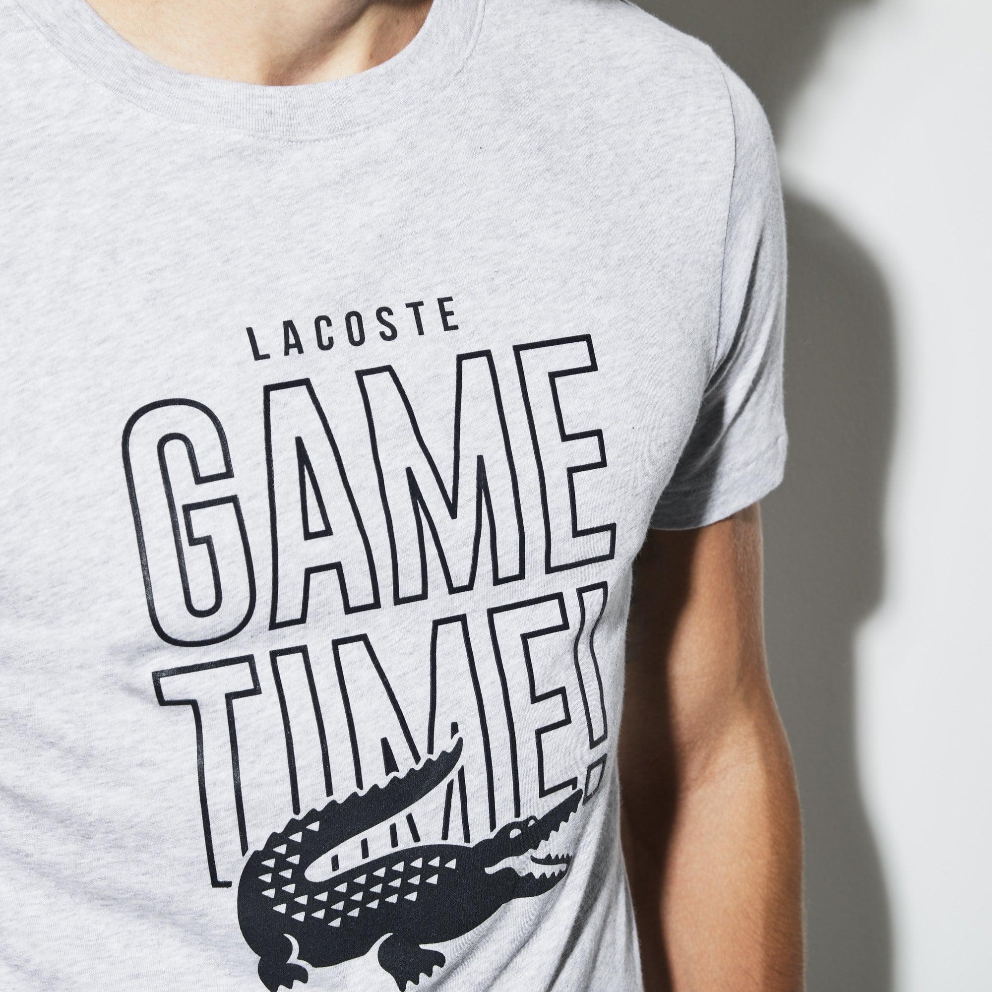 Lacoste - Herren LACOSTE SPORT Game Time Rundhals Tennis T-Shirt aus Jersey - 4