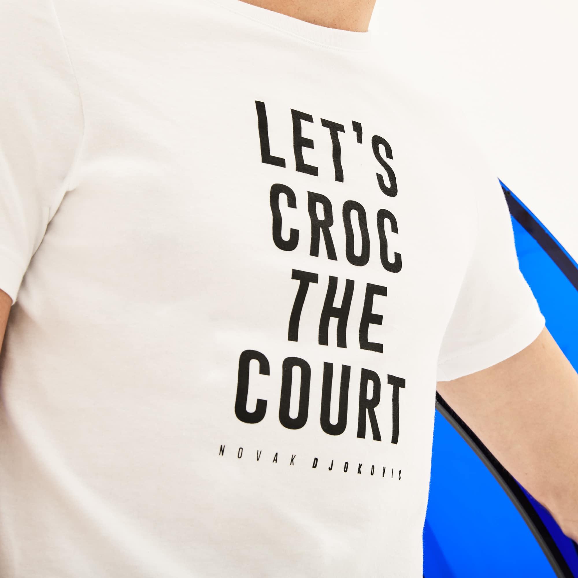 Lacoste - Herren Rundhals-T-Shirt aus Jersey mit Schriftzug LACOSTE SPORT - 4
