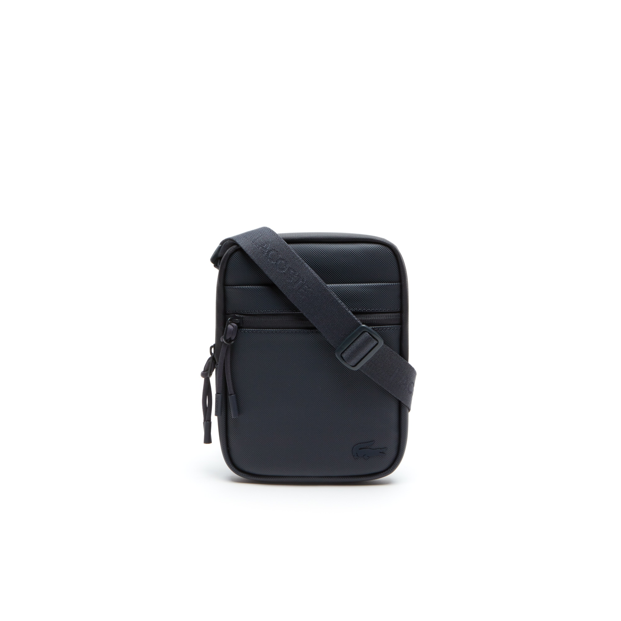 Flache Herrentasche L.12.12. Concept aus Petit Piqué