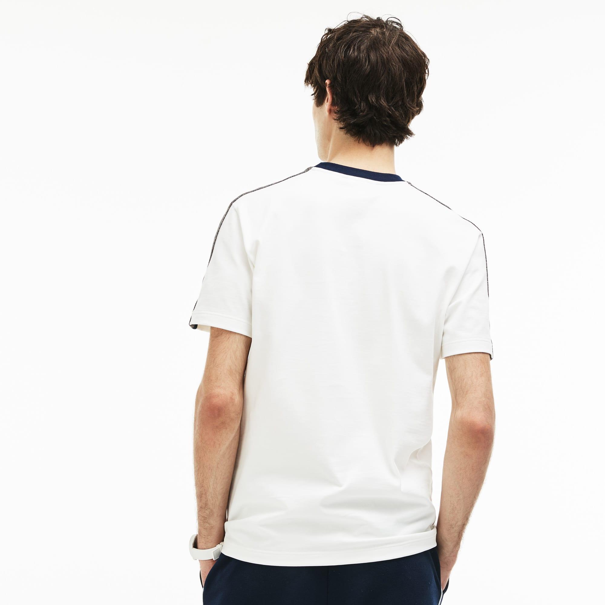 Lacoste - Herren T-Shirt mit Kontrast-Streifen - 2