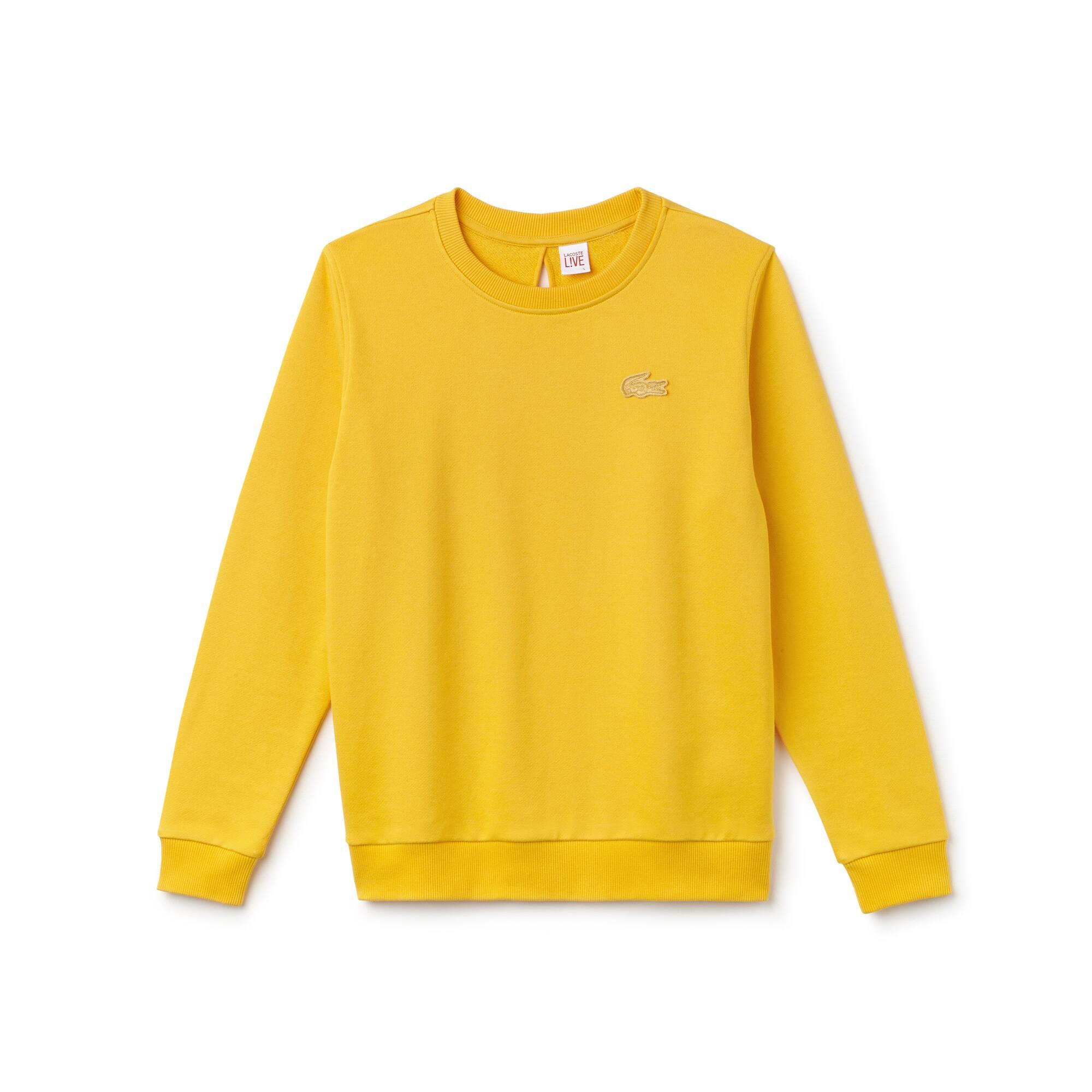 Lacoste - Damen-Sweatshirt mit Schlüssellochausschnitt LACOSTE L!VE - 4