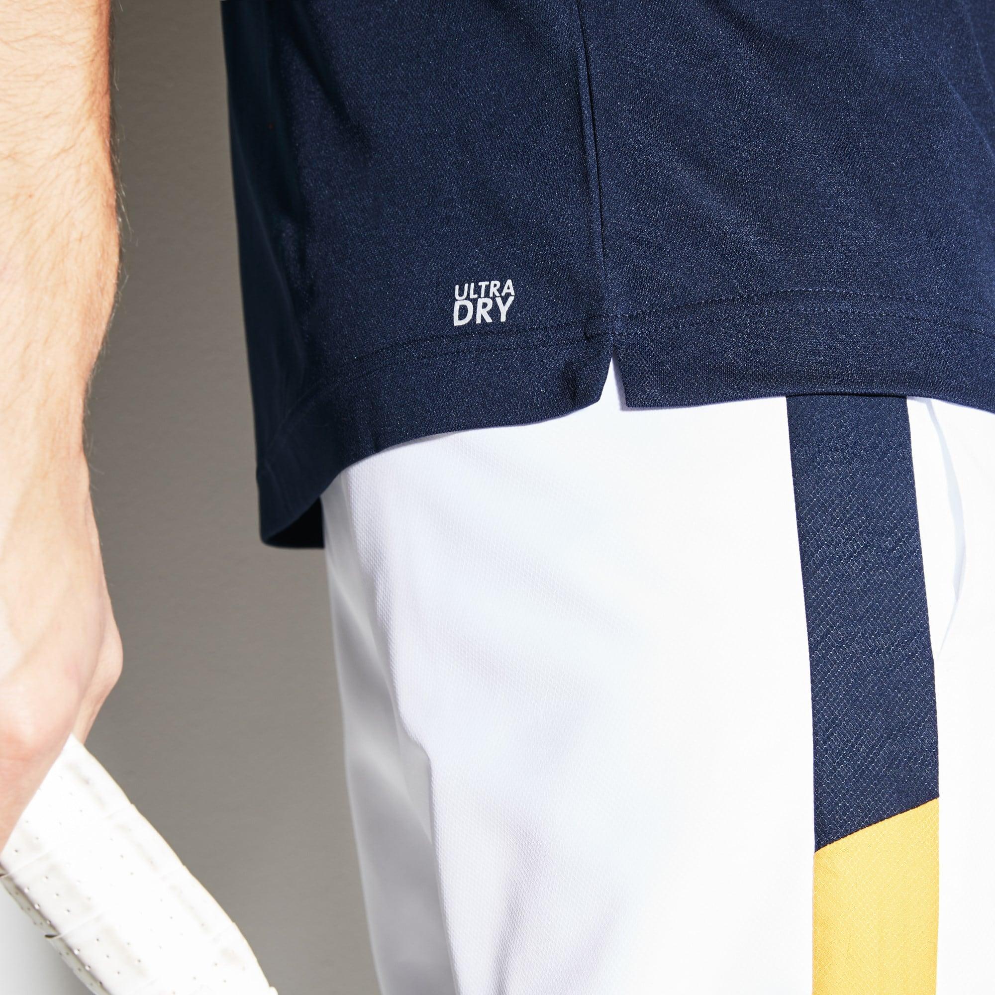 Lacoste - Herren LACOSTE SPORT Rundhals Tennis T-Shirt mit Colorblocks - 5