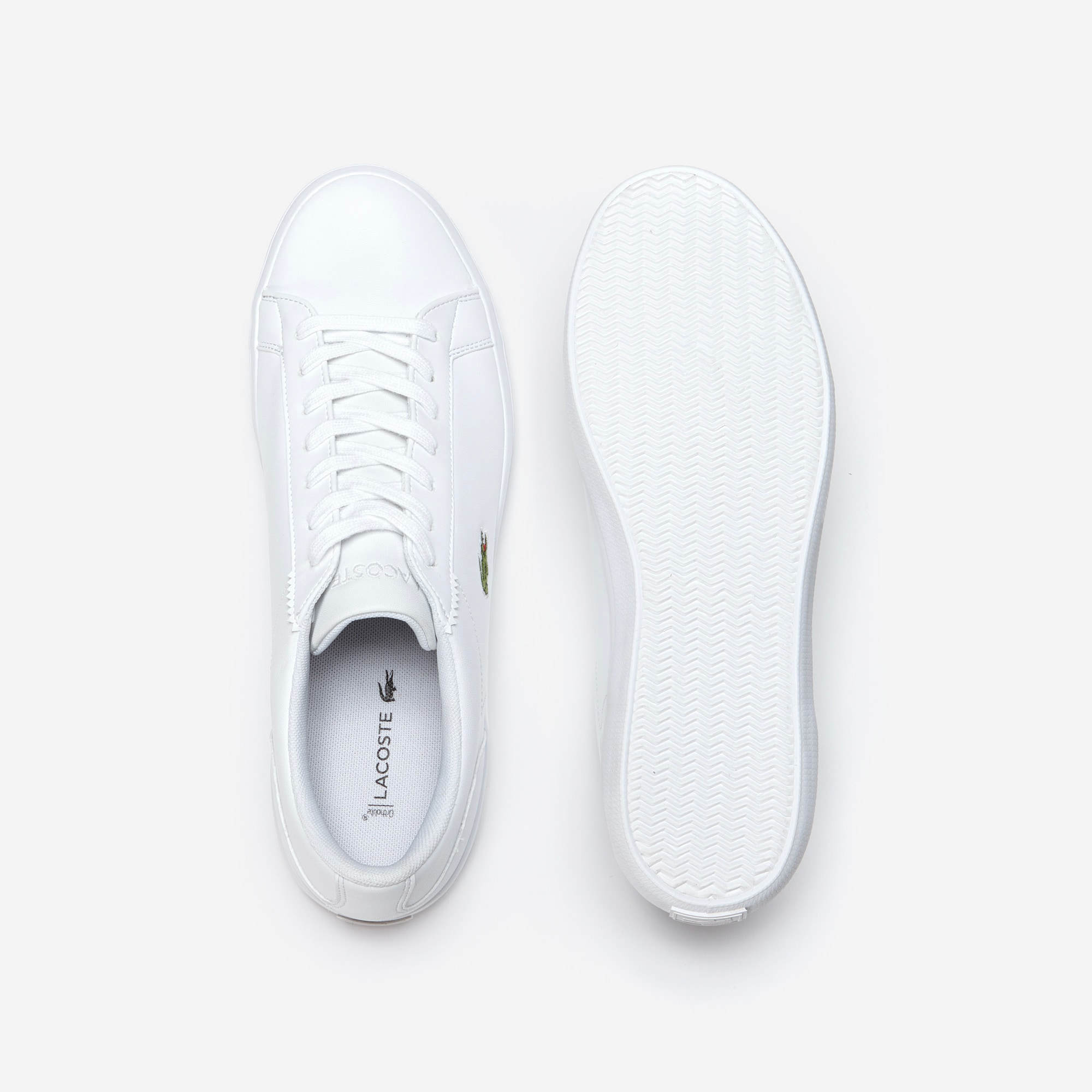 Lacoste - Herren-Sneakers LEROND aus einfarbigem Leder - 4