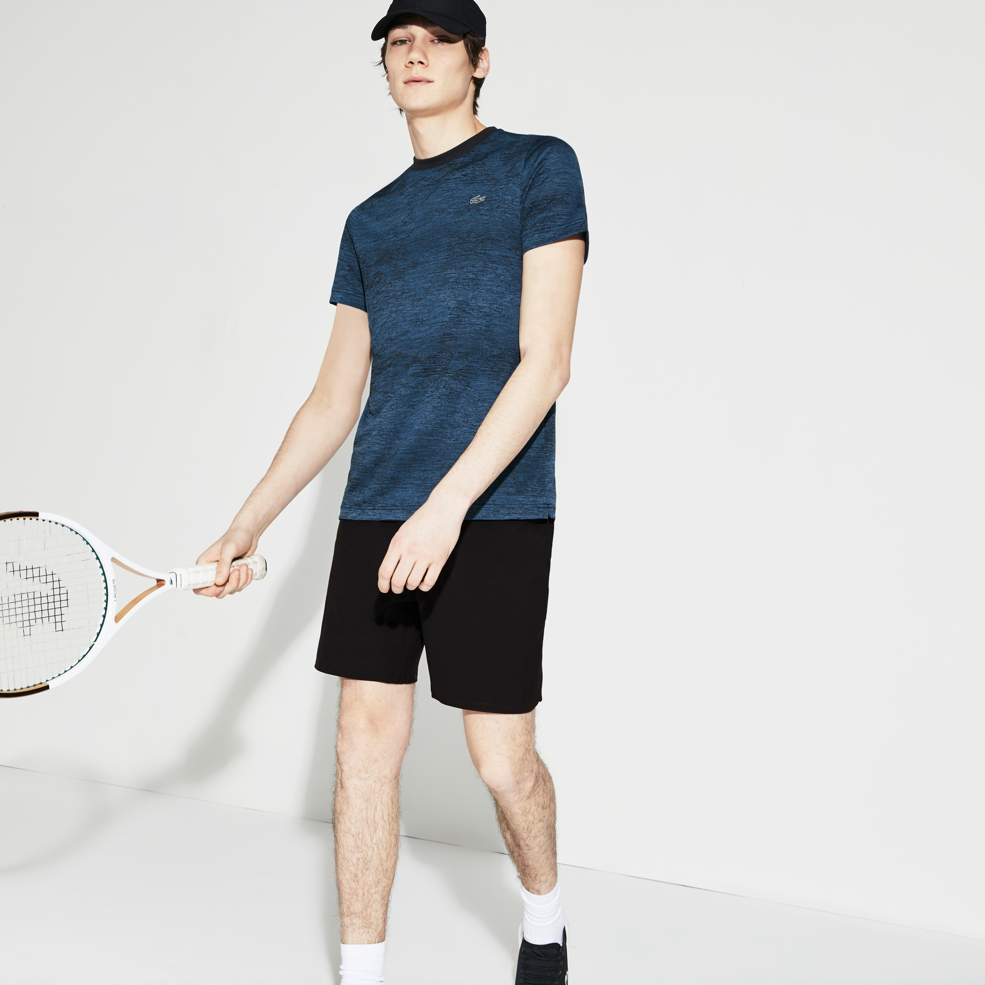 Herren LACOSTE SPORT funktionelle Tennisshorts
