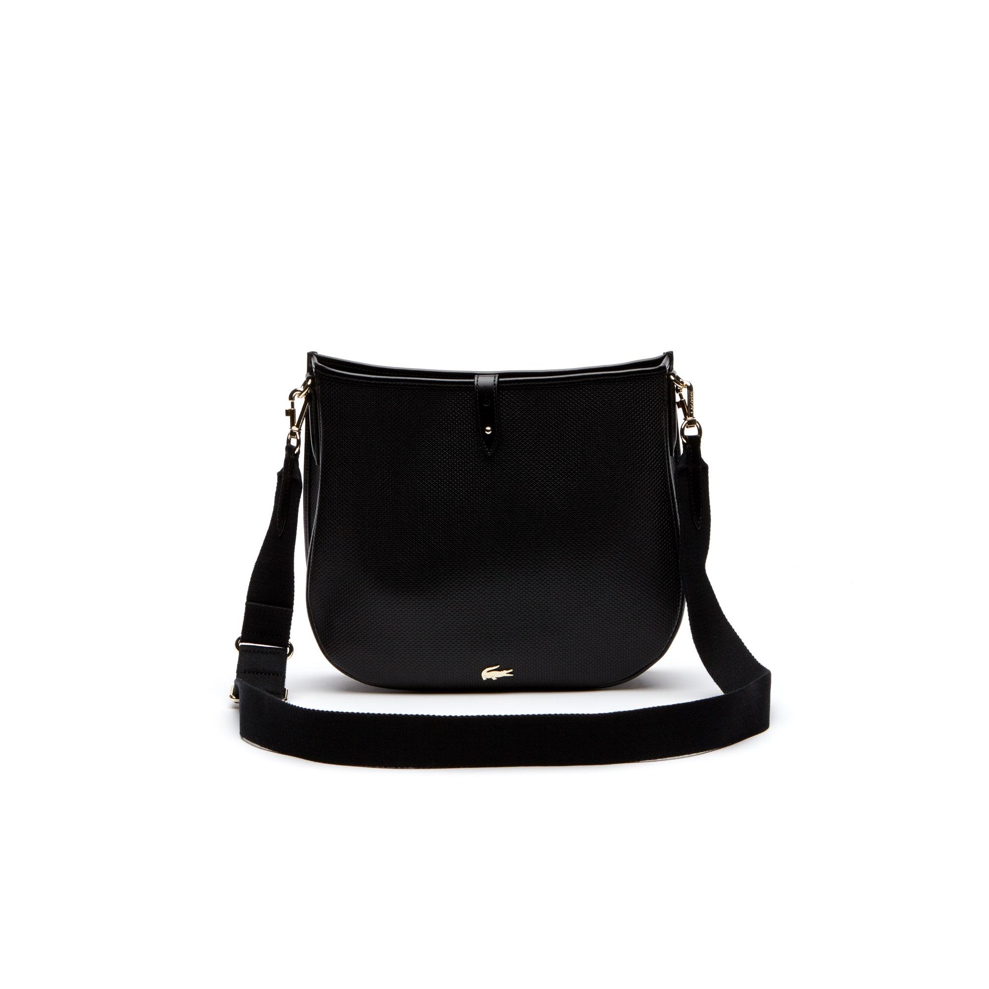 Damen-Hobo-Bag CHANTACO aus Piqué-Leder