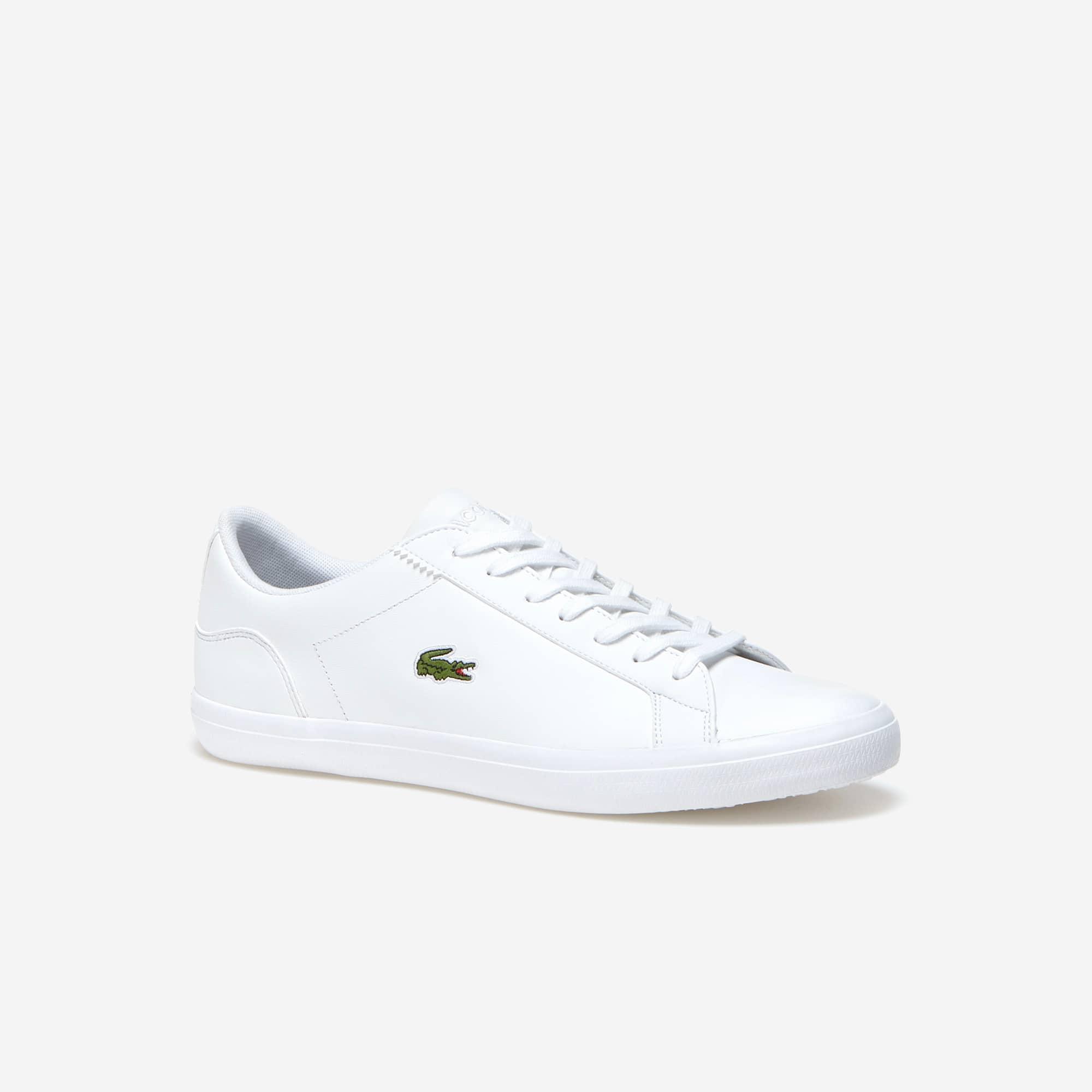 Lacoste - Herren-Sneakers LEROND aus einfarbigem Leder - 1