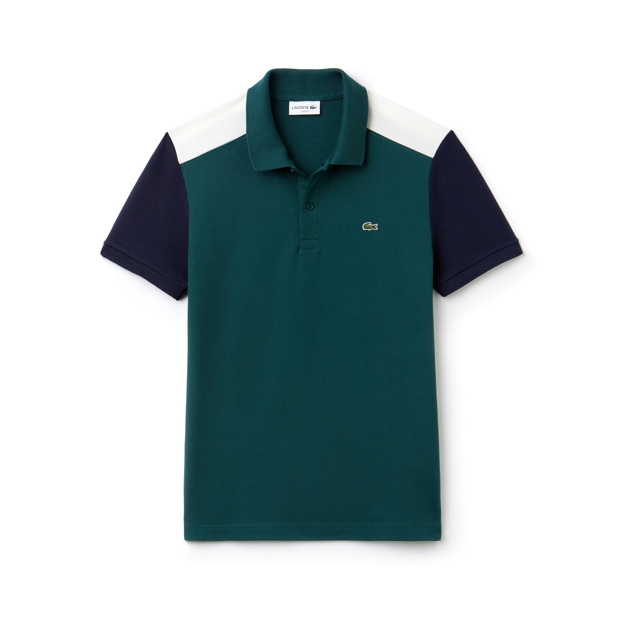 Herren LACOSTE Slim Fit Poloshirt aus Stretch-Prima Baumwollpiqué