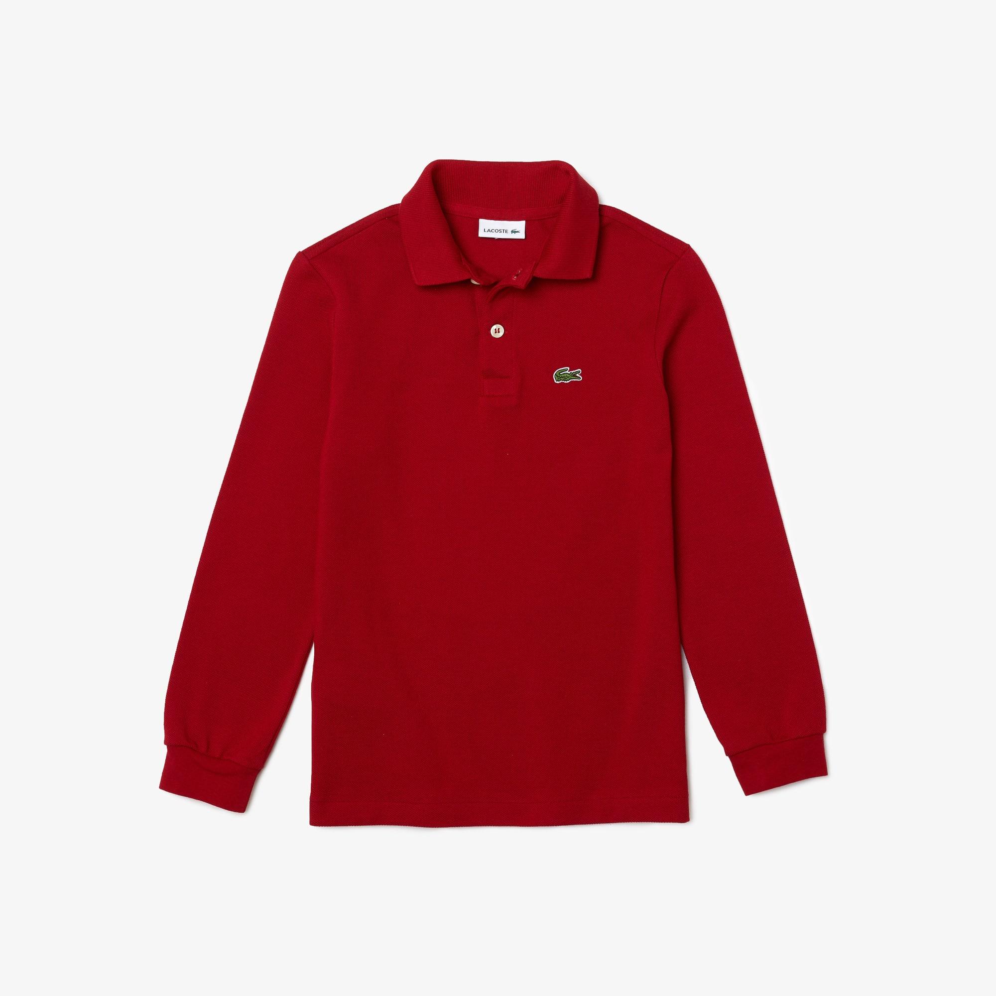 LACOSTE Jungen-Poloshirt aus Petit Piqué