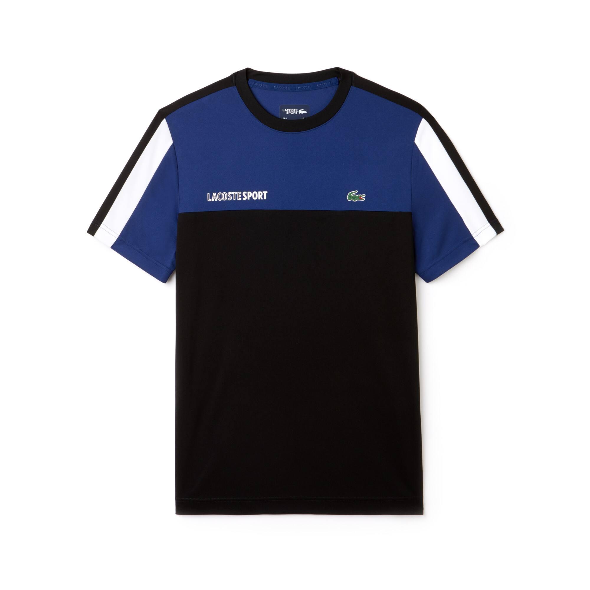 Lacoste - Herren LACOSTE SPORT Rundhals Tennis T-Shirt mit Colorblocks - 3