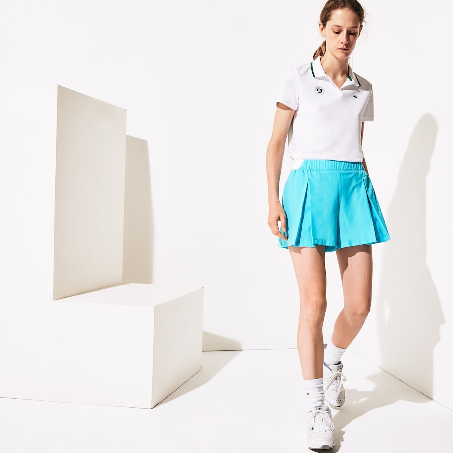 Damen-Shortsrock French Open LACOSTE SPORT