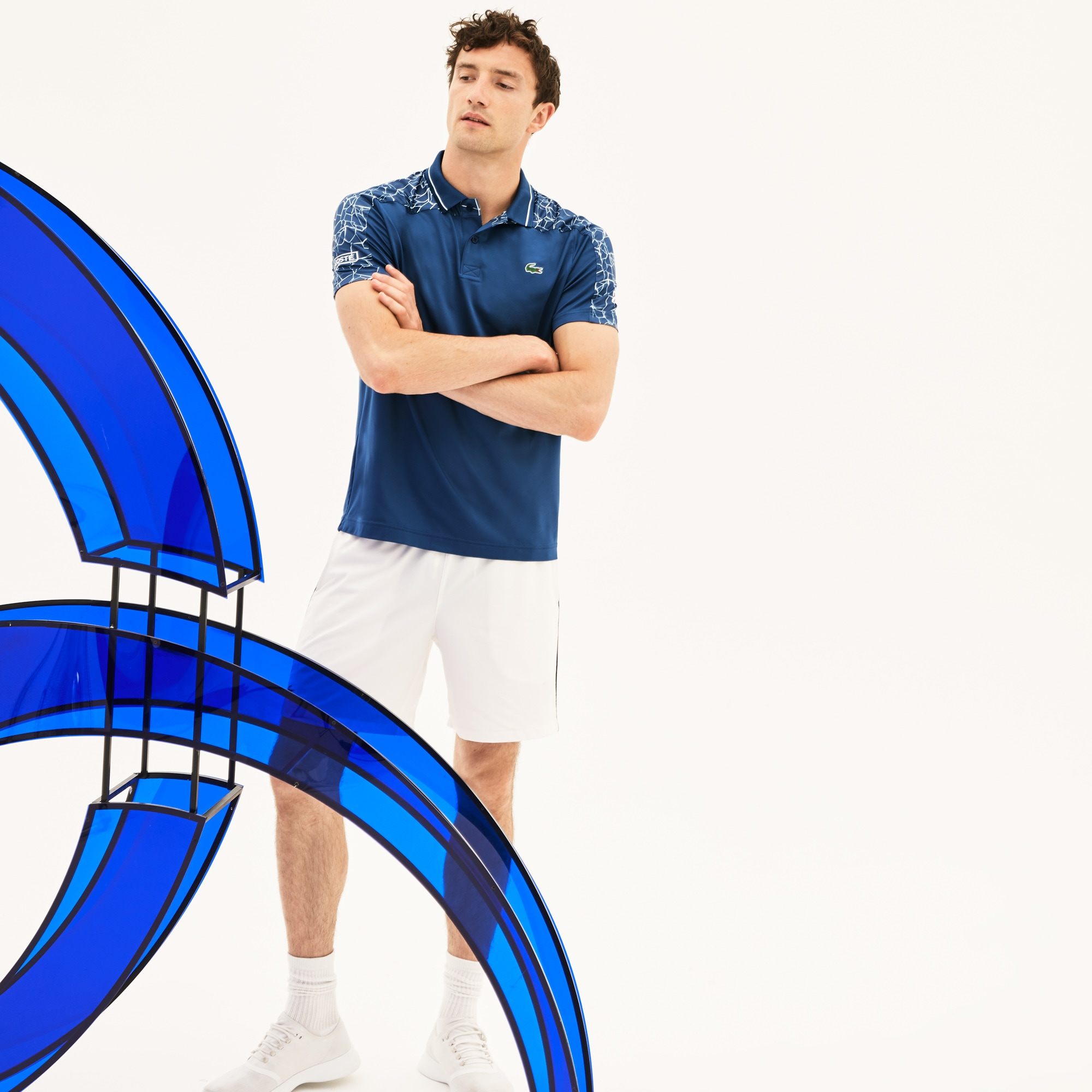 Lacoste - Herren-Poloshirt aus Stretch-Jersey LACOSTE SPORT NOVAK DJOKOVIC - 4