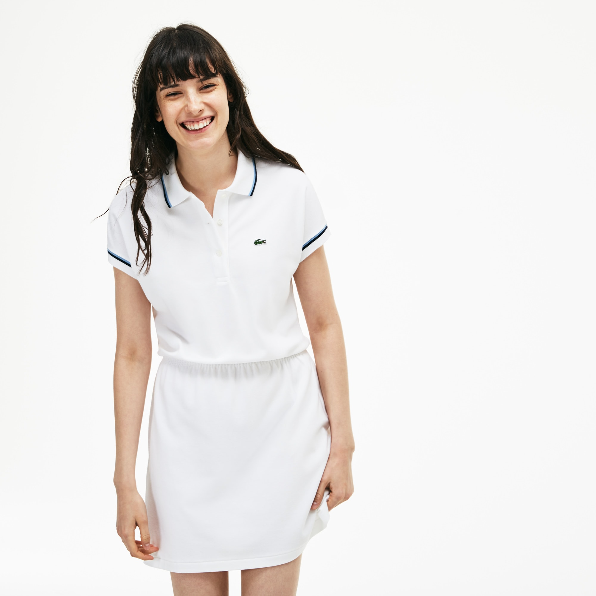 Damen LACOSTE 85th Anniversary Limited Edition Piqué-Polokleid