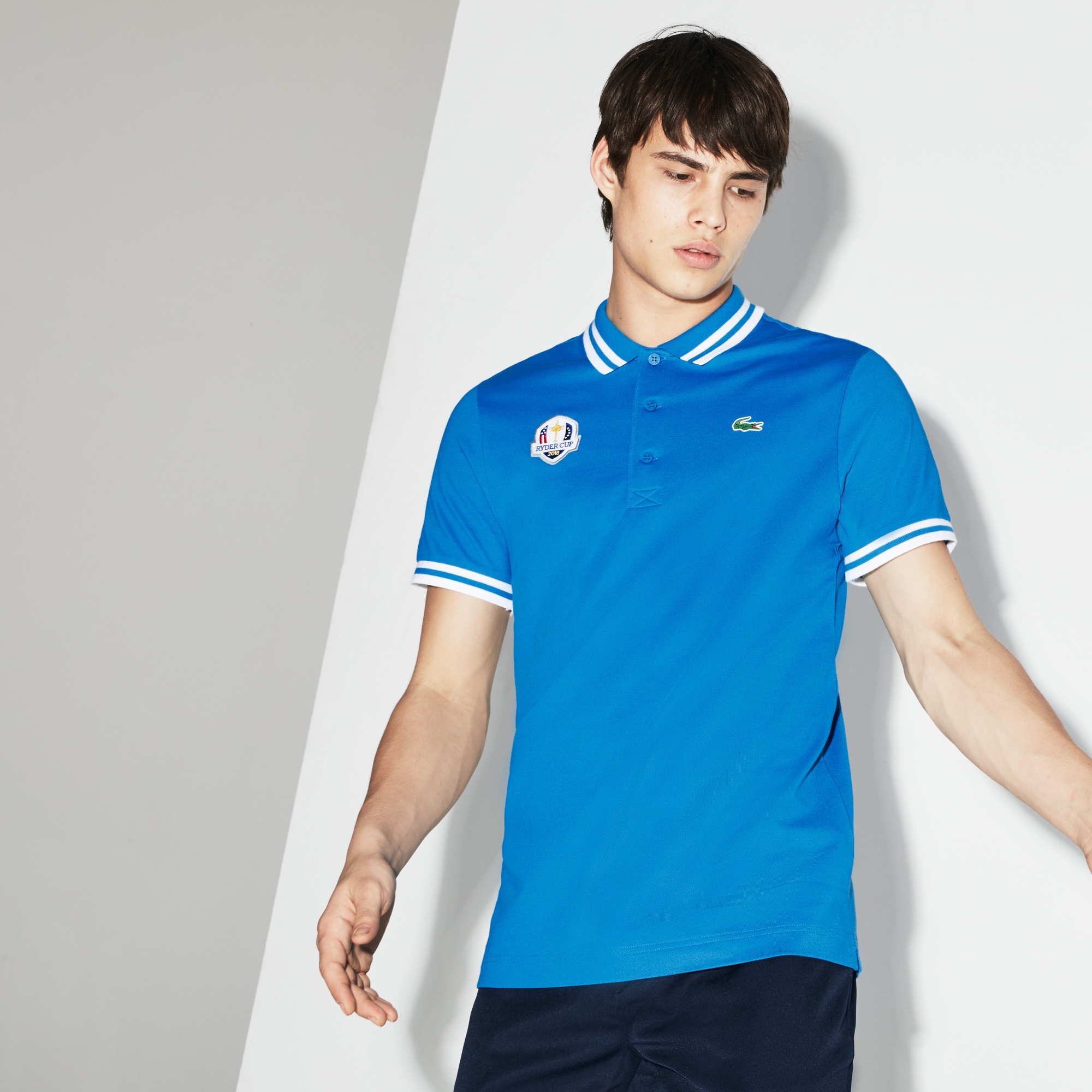 Lacoste - Herren LACOSTE SPORT Ryder Cup Edition Golf Poloshirt - 1