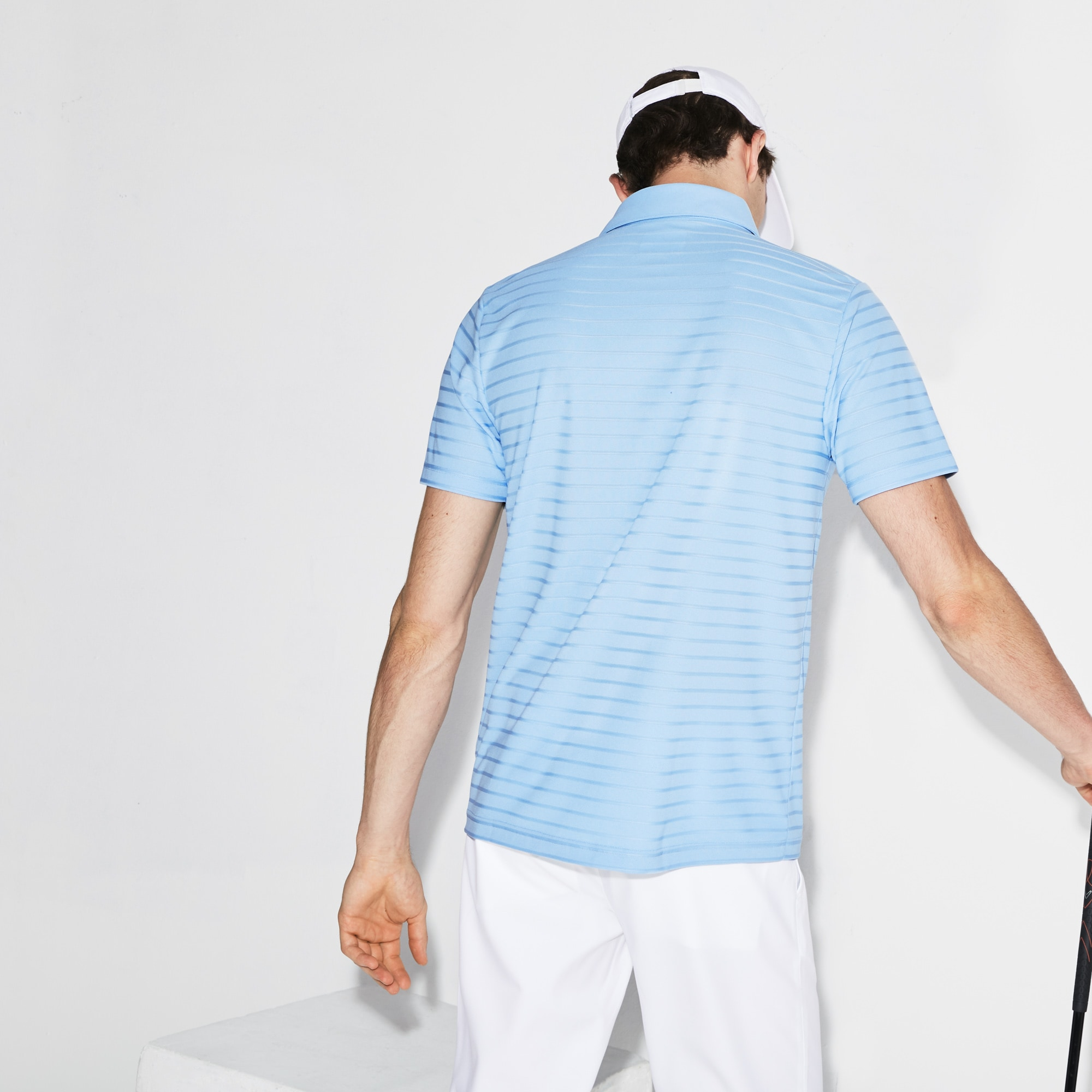 Lacoste - Herren-Funktions-Polo aus Jacquard-Jersey LACOSTE SPORT GOLF - 2