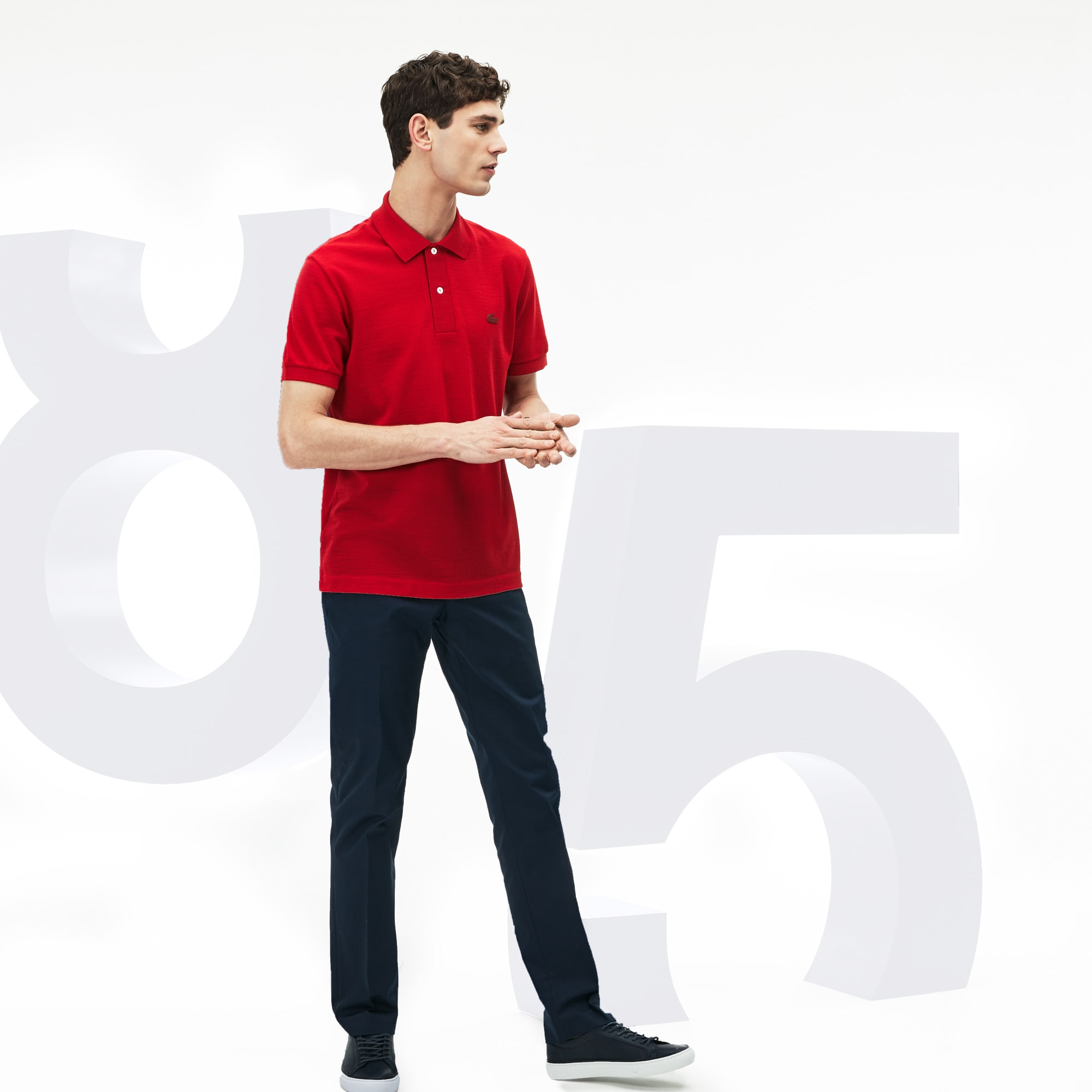 Herren-Poloshirt LACOSTE L.12.12 LIMITED EDITION 85 ANS