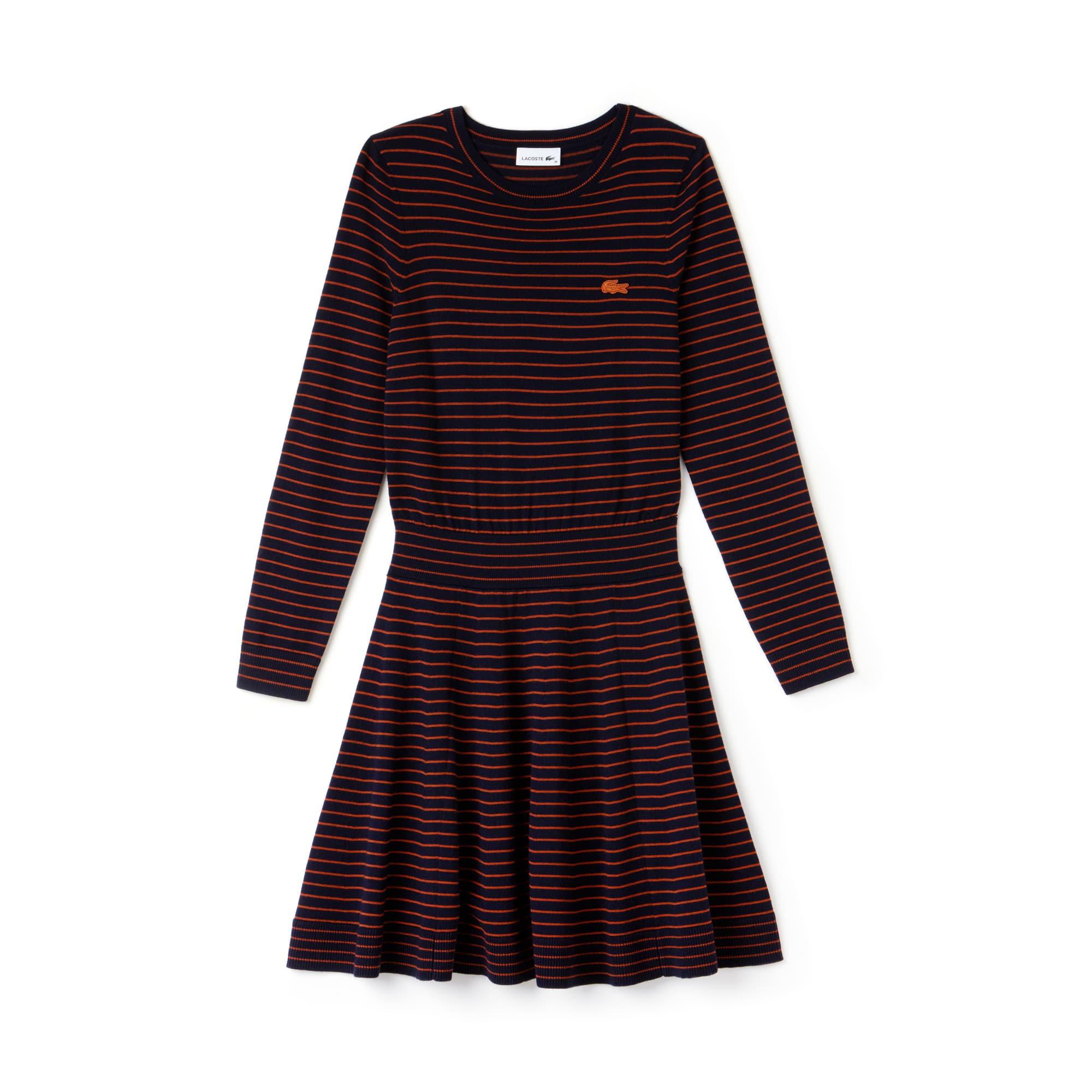 Damen Pulloverkleid aus Wolljersey