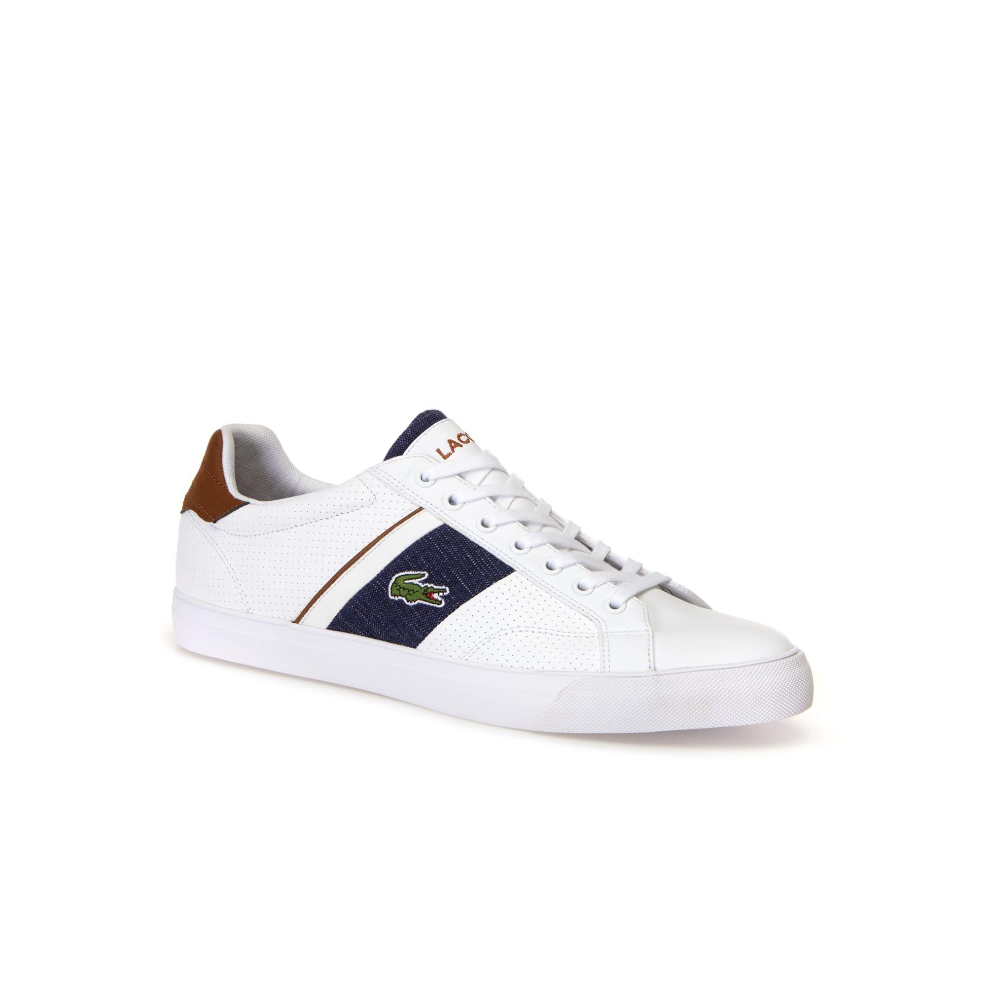 Herren-Sneakers FAIRLEAD aus Leder und Canvas