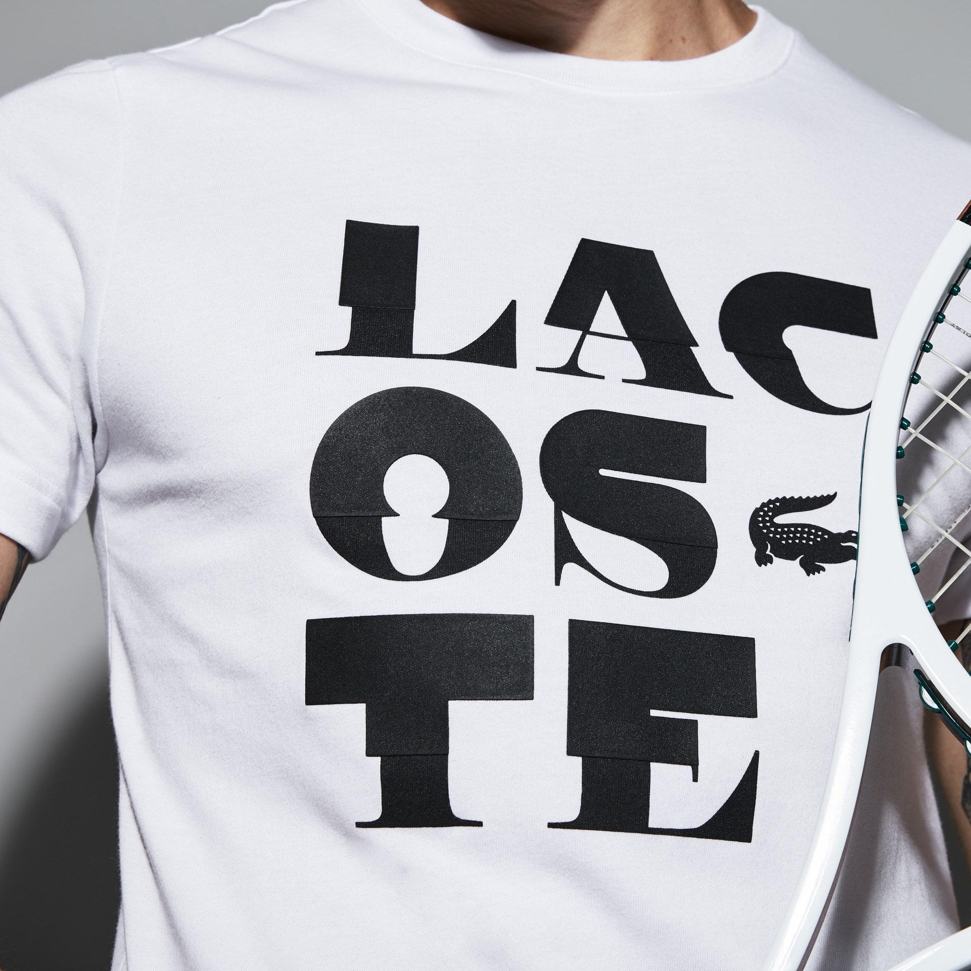 Lacoste - Herren LACOSTE SPORT Rundhals Tennis T-Shirt aus Jersey - 4