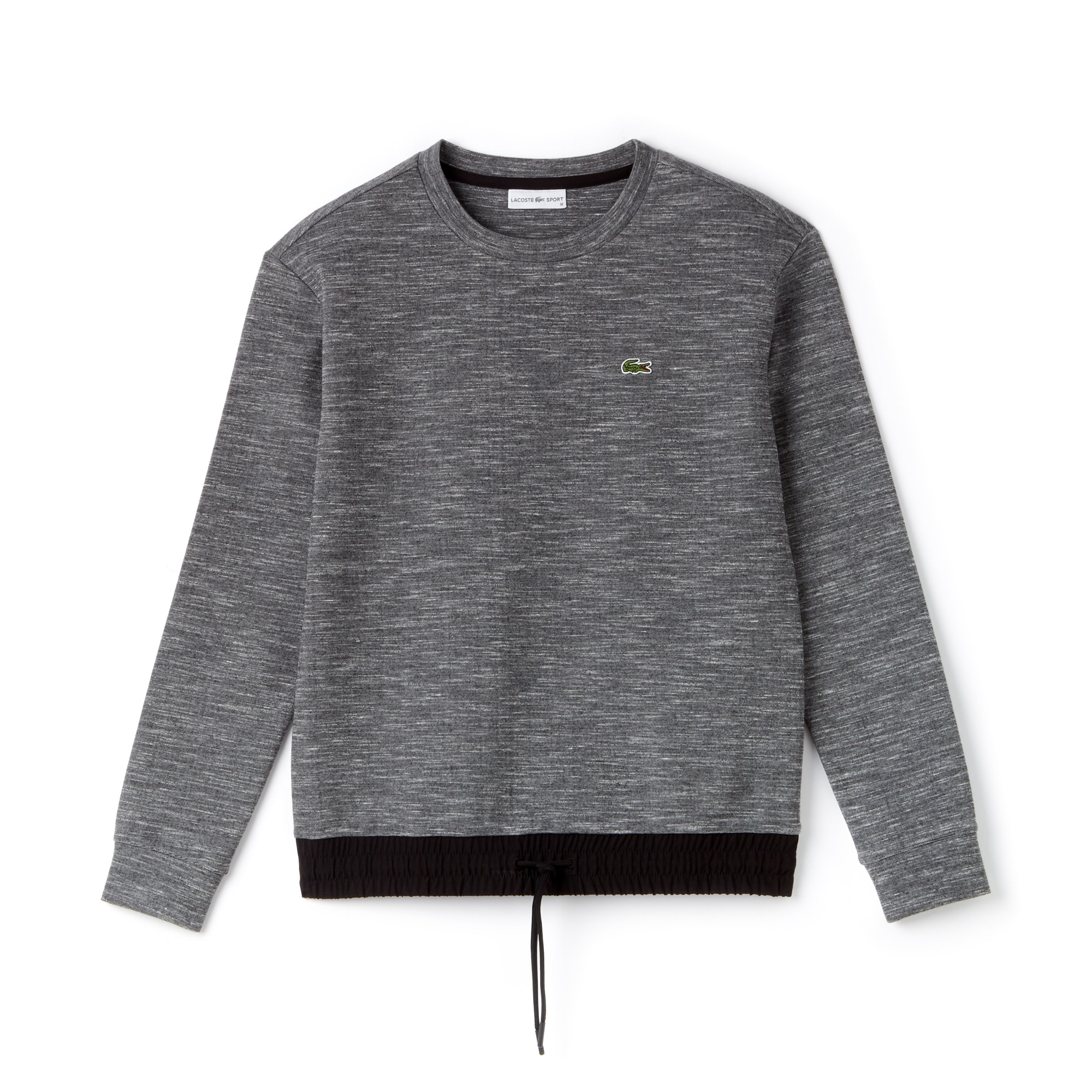 Damen LACOSTE SPORT Fleece und Taft Tennis-Sweatshirt