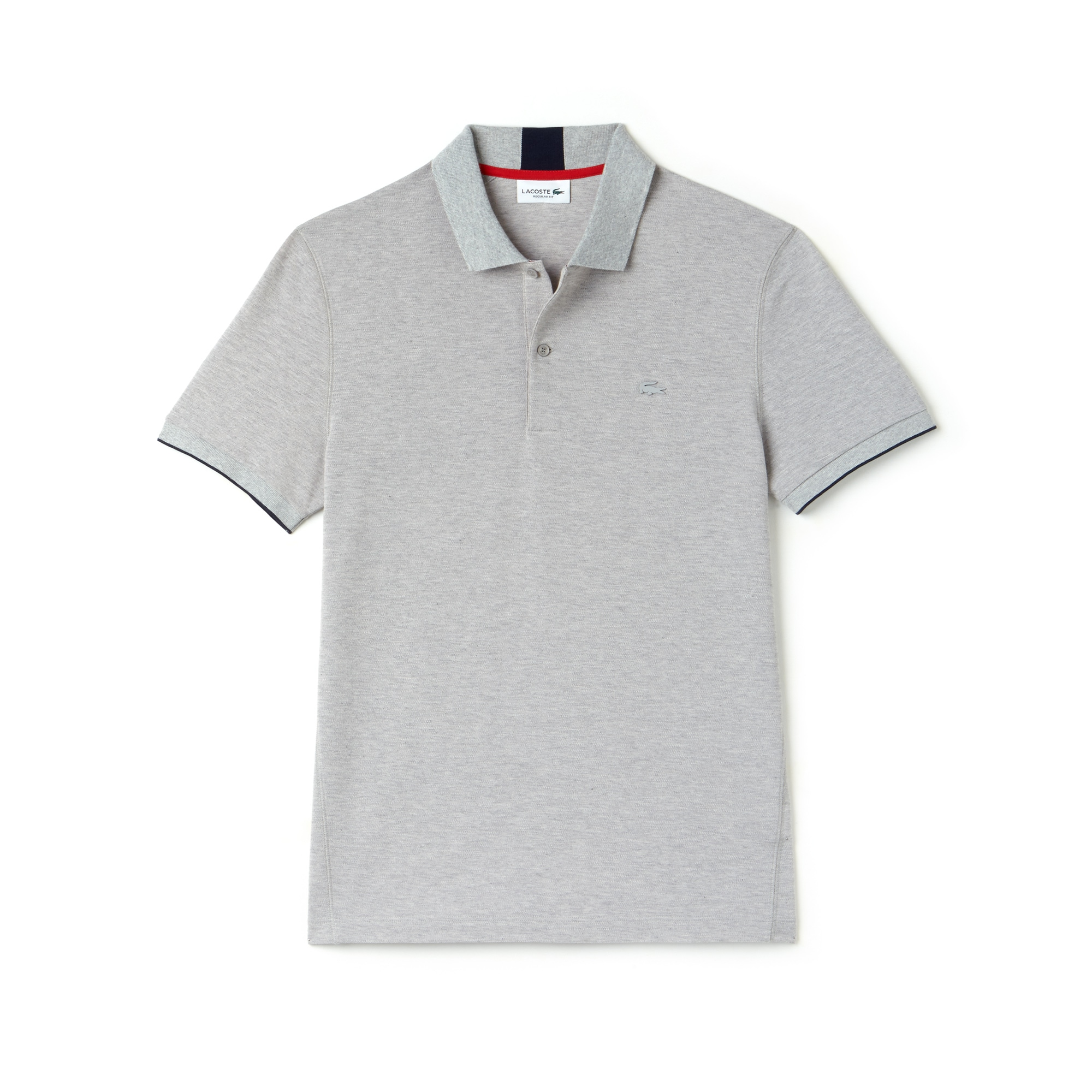 Lacoste - LACOSTE Regular Fit Herren-Poloshirt aus funktionellem Petit-Piqué - 3