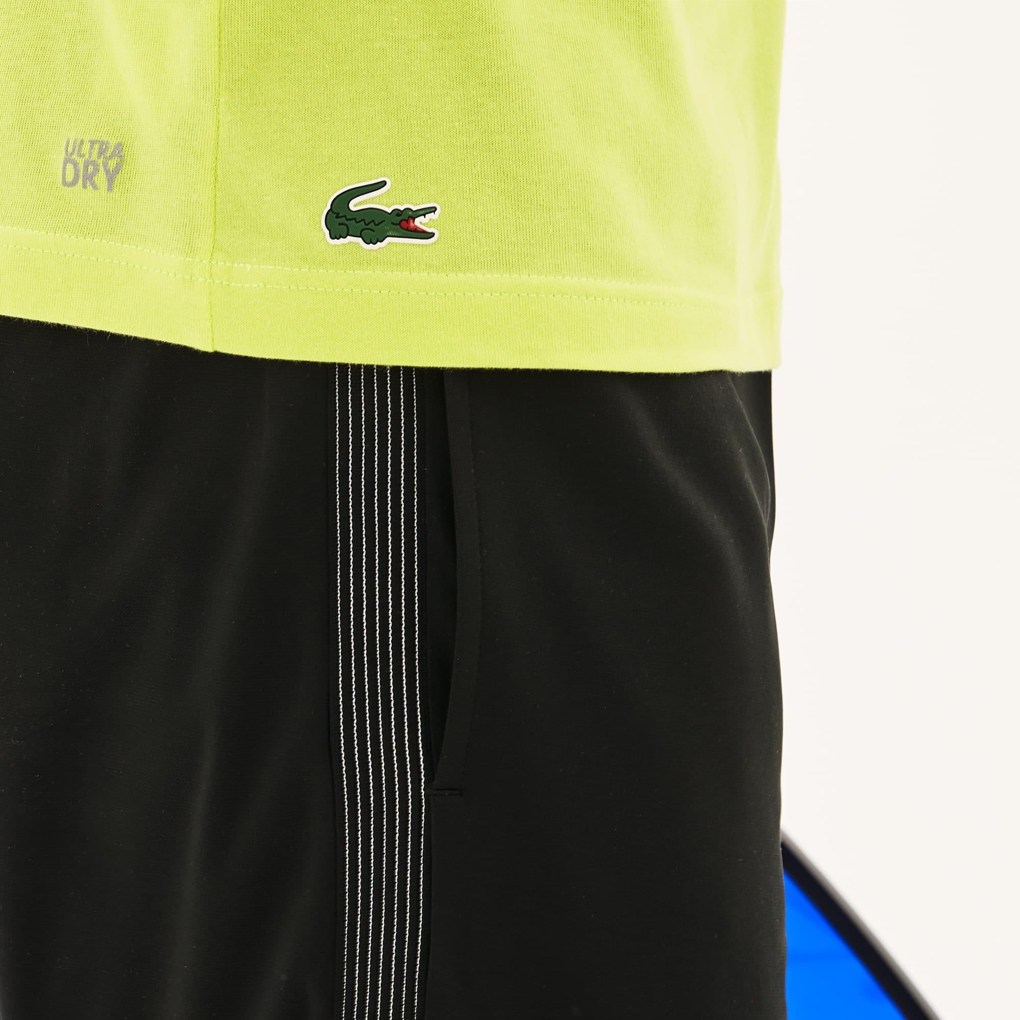 Lacoste - Herren Rundhals-T-Shirt aus Jersey mit Aufdruck LACOSTE SPORT - 6