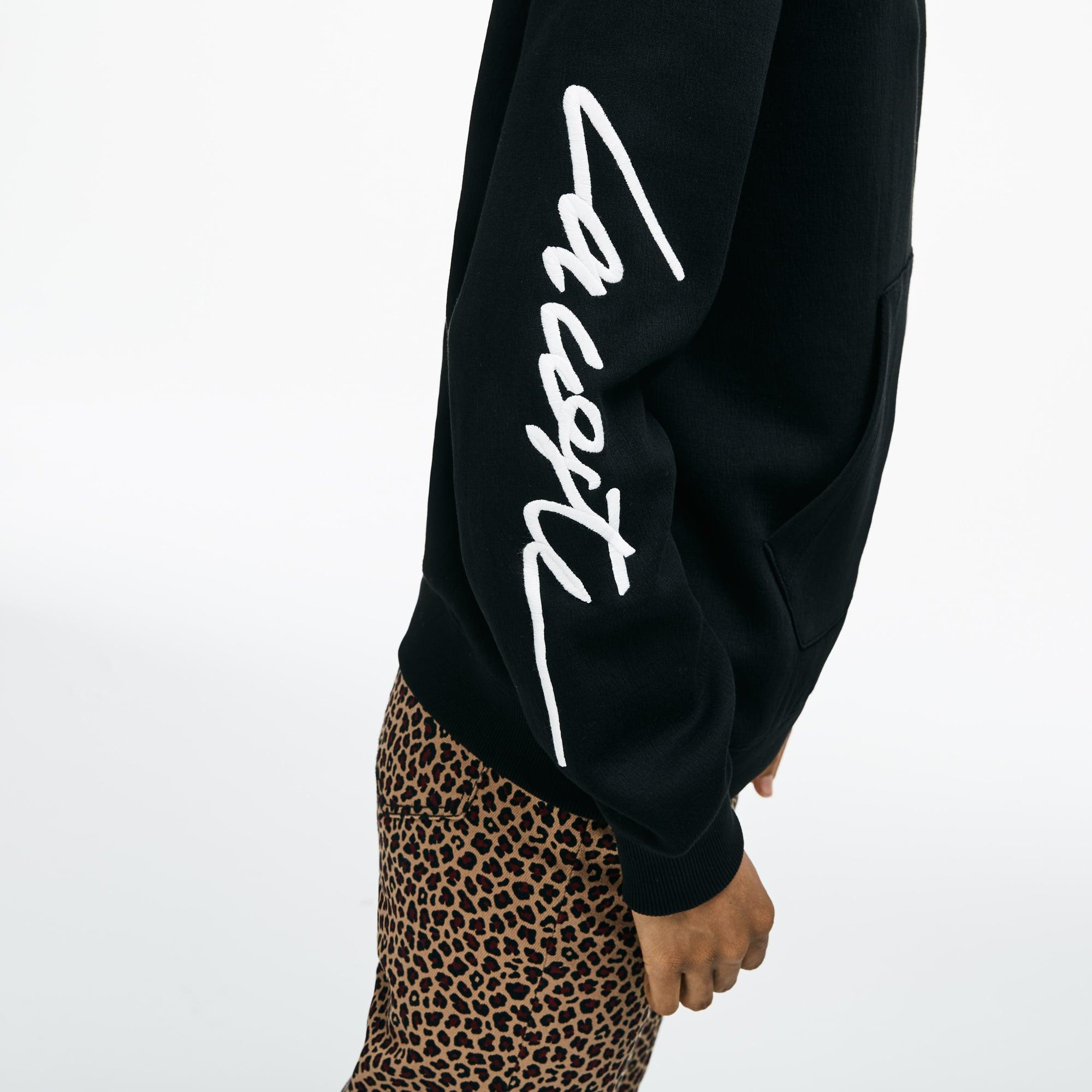 Lacoste - LACOSTE L!VE Rundhals-Sweatshirt mit Stickerei - 8