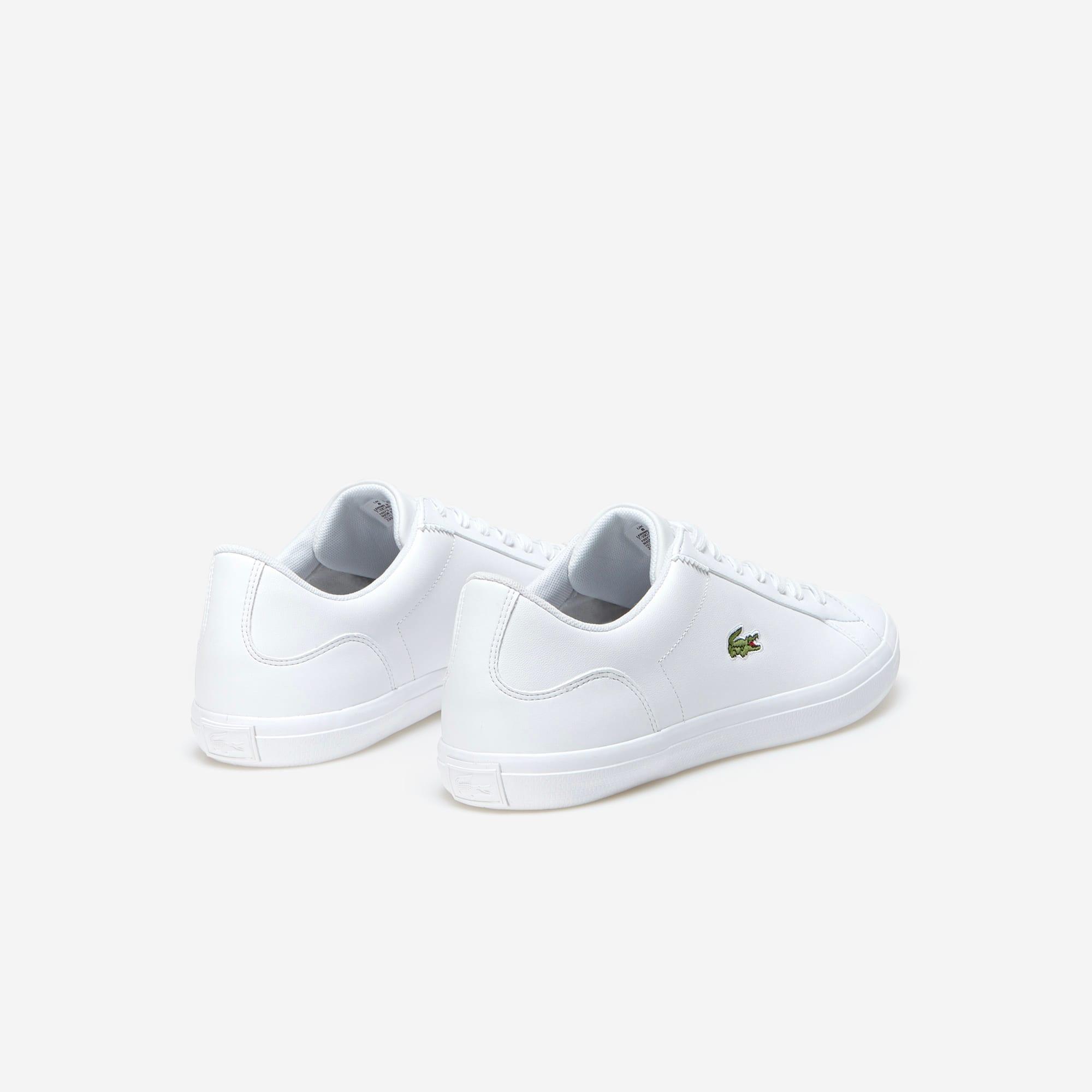 Lacoste - Herren-Sneakers LEROND aus einfarbigem Leder - 3