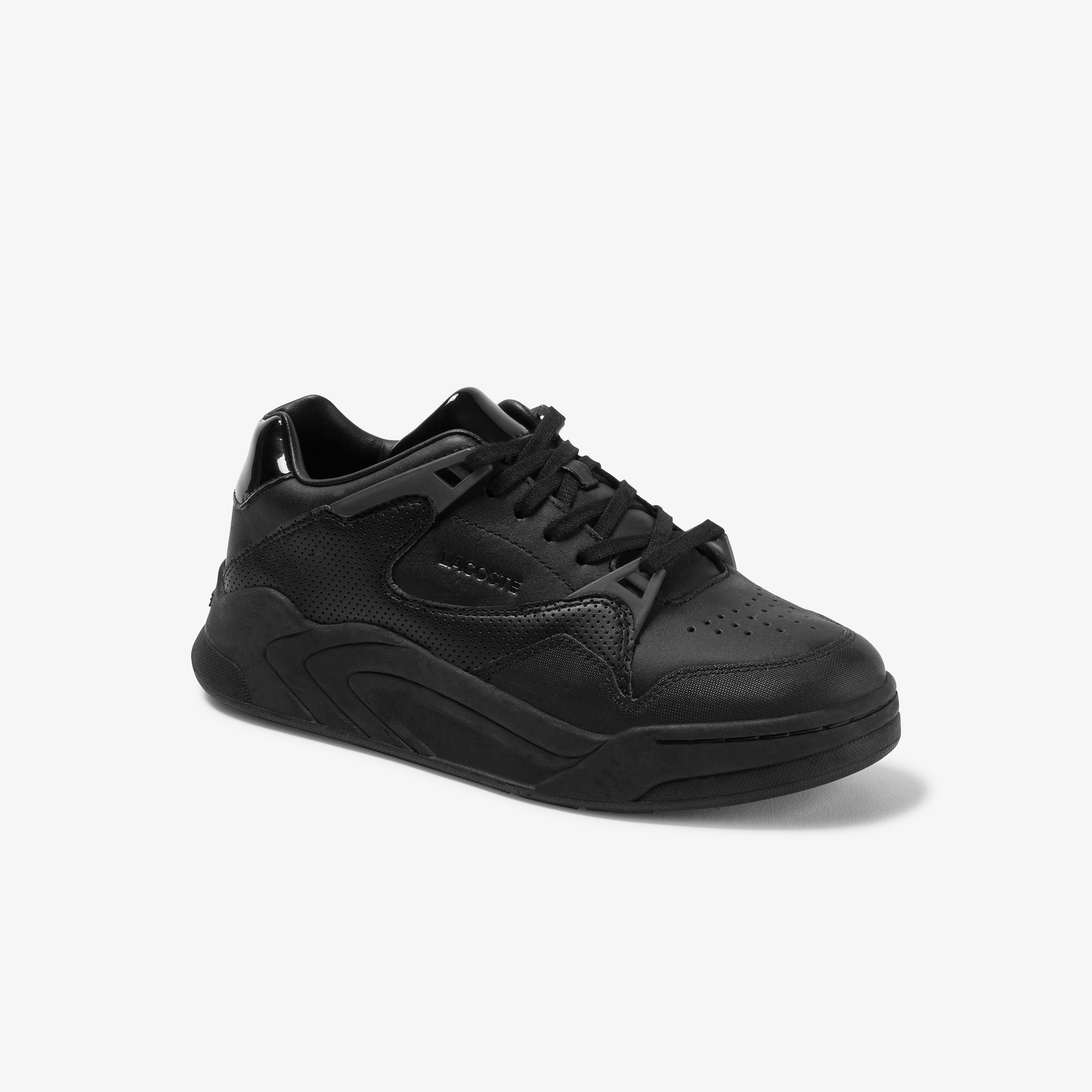 Damen-Sneakers COURT SLAM aus Ton-in-Ton Leder