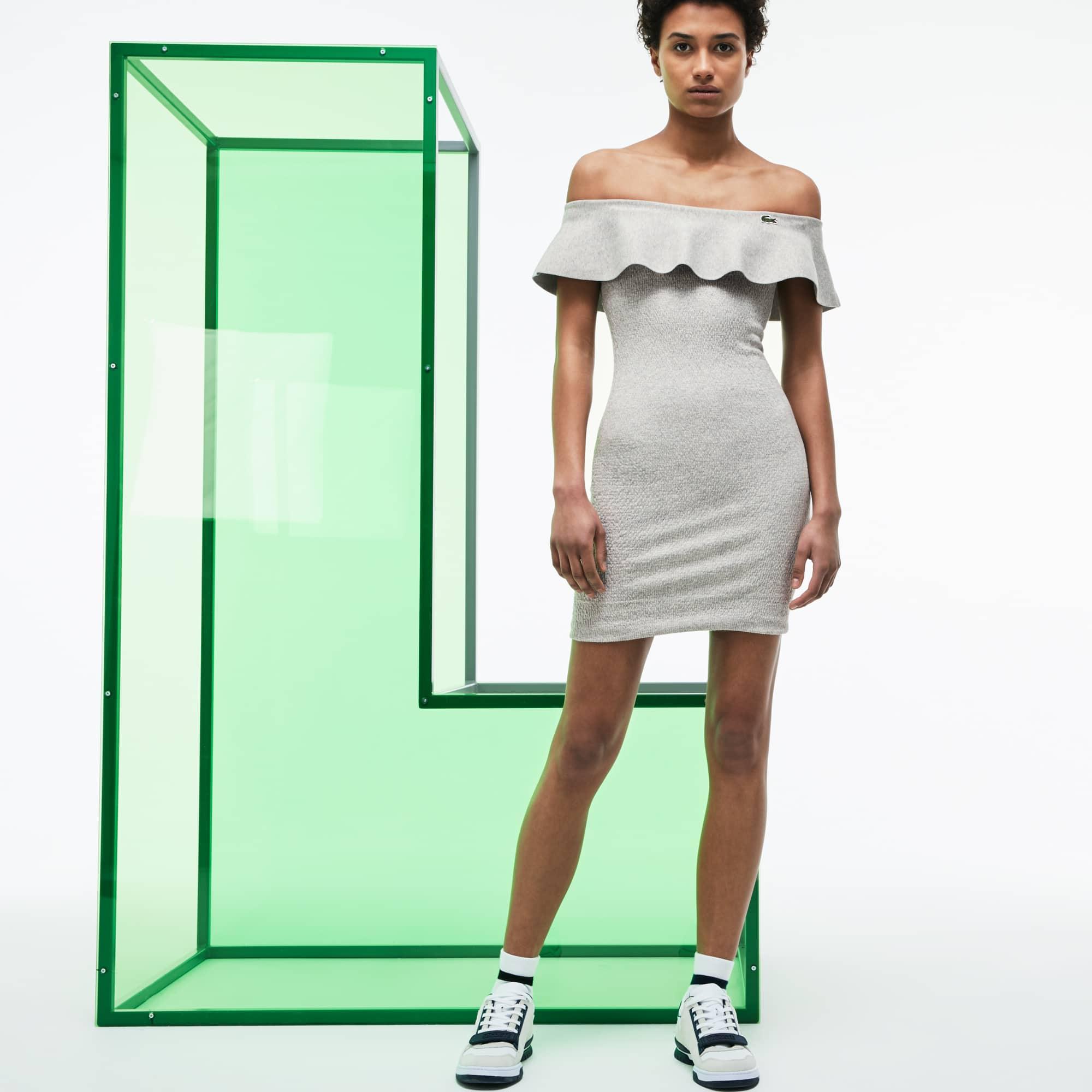 Damen Bustierkleid mit Volant aus der Fashion Show Kollektion