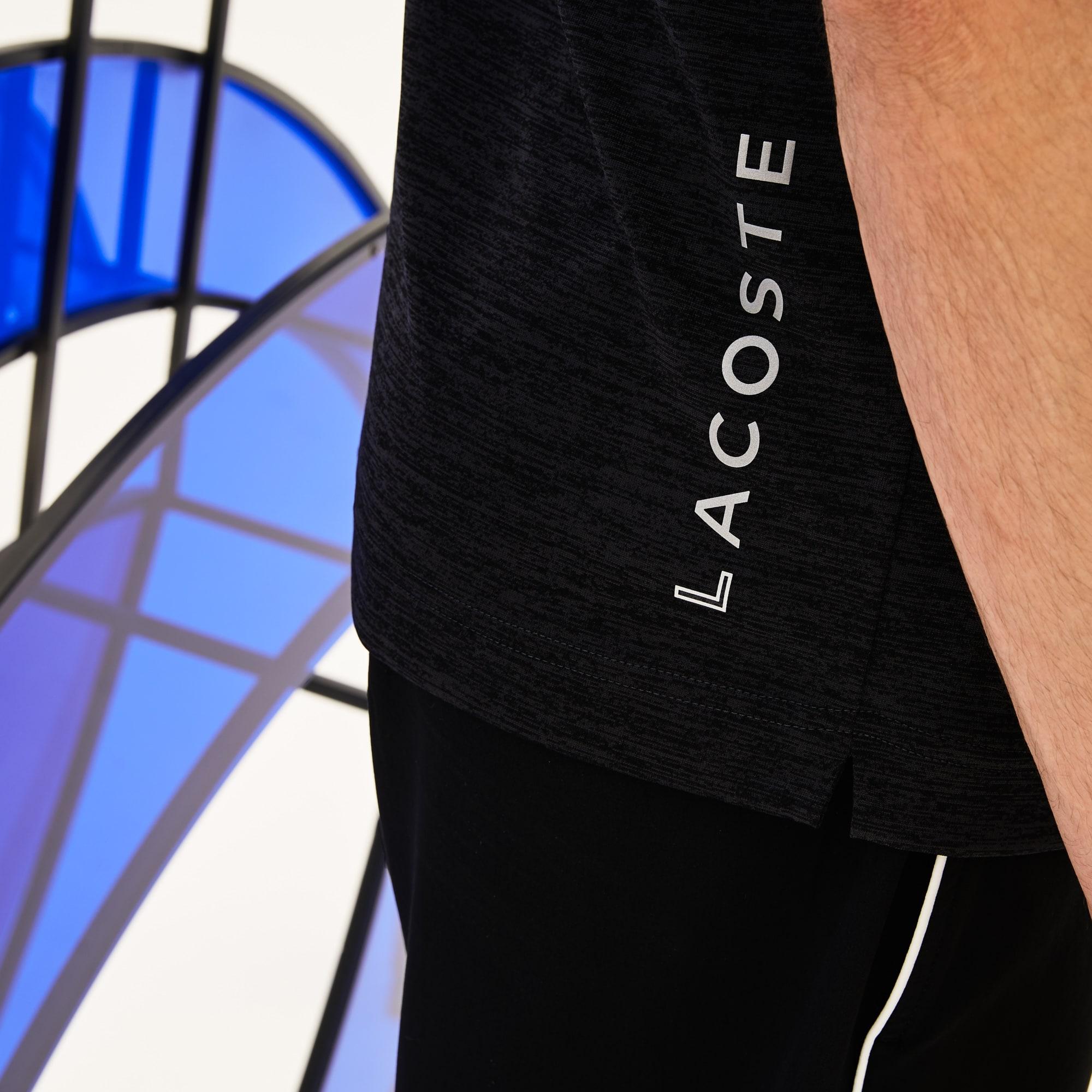 Lacoste - Herren-Poloshirt aus meliertem Jersey LACOSTE SPORT - 8