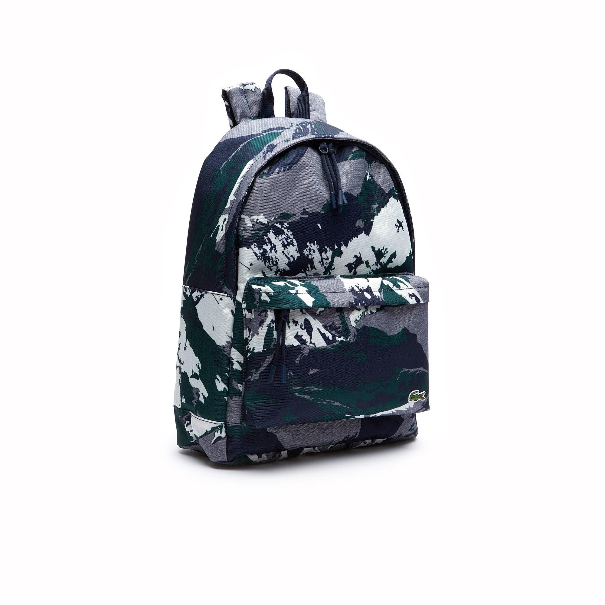 Lacoste - Herren NÉOCROC rucksack mit alpinem Print - 4