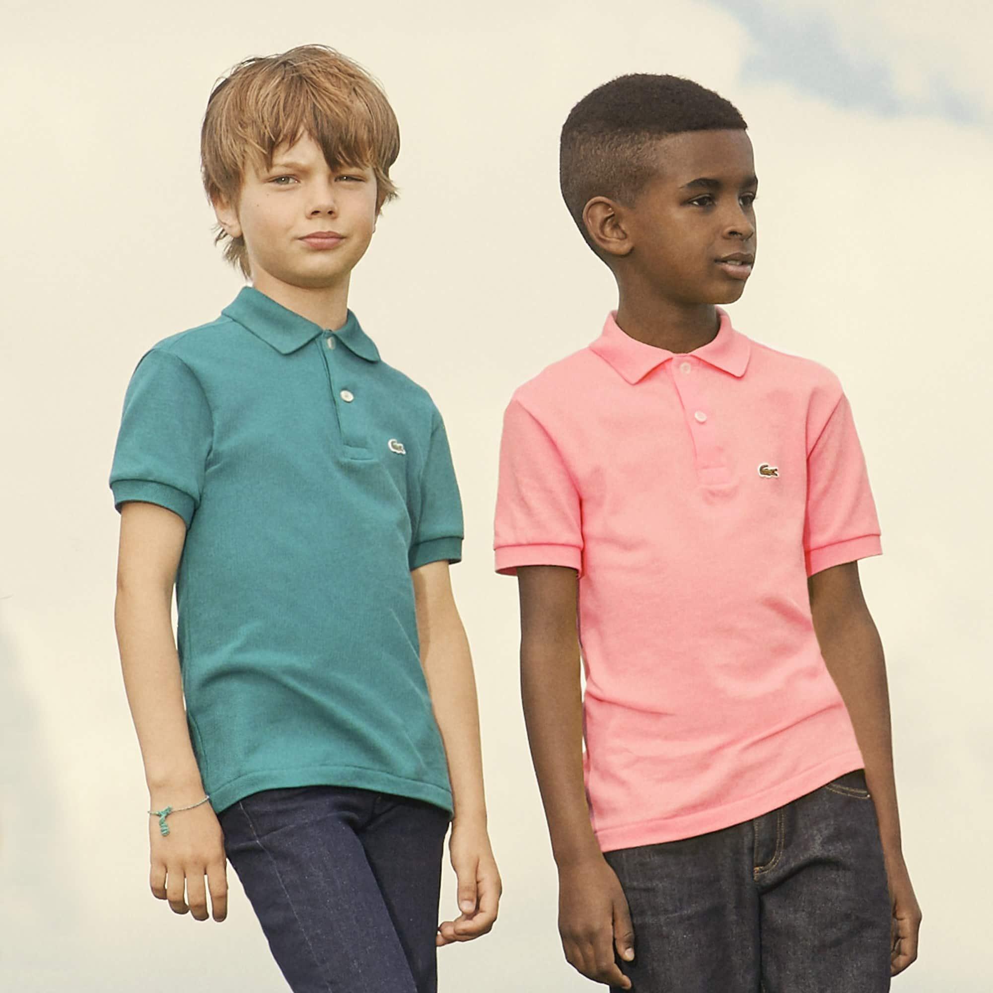 Lacoste L12.12 Kinder-Polo aus Petit Piqué