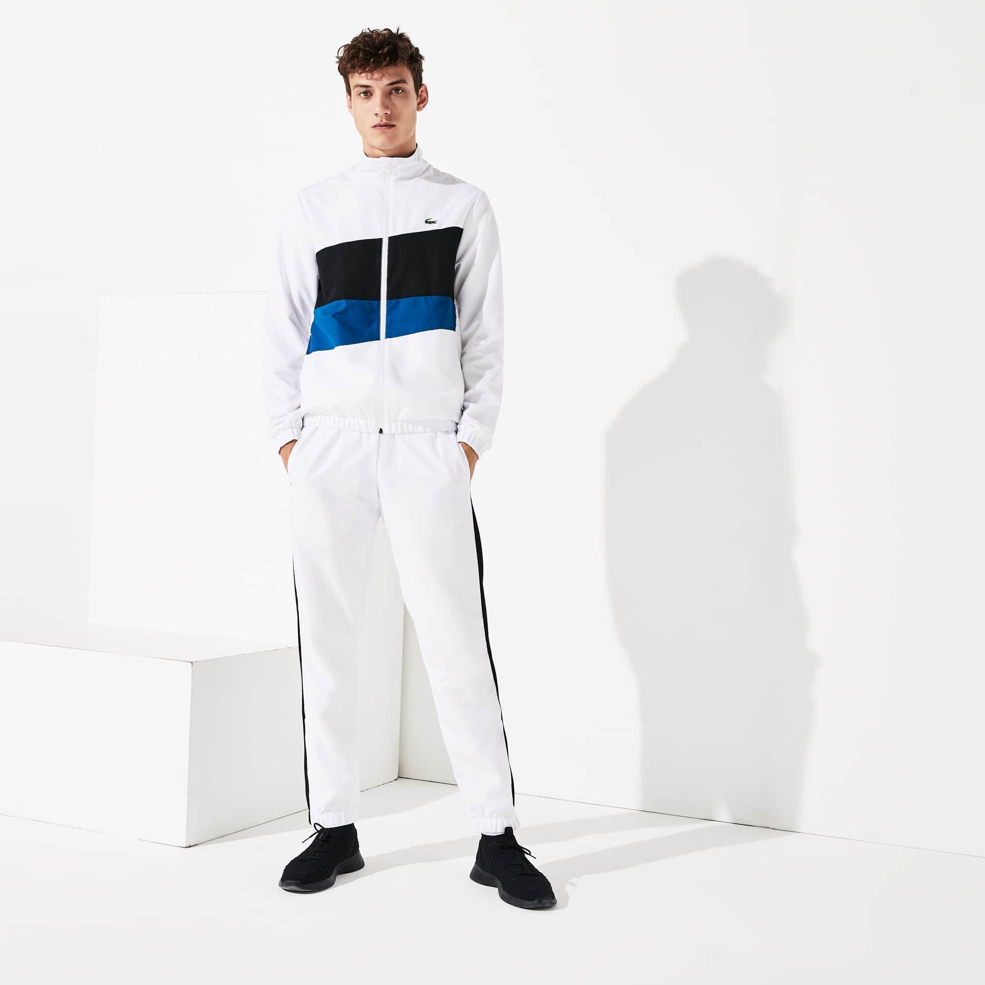 Herren Lacoste Sport Trainingsanzug Mit Colourblocks by Lacoste