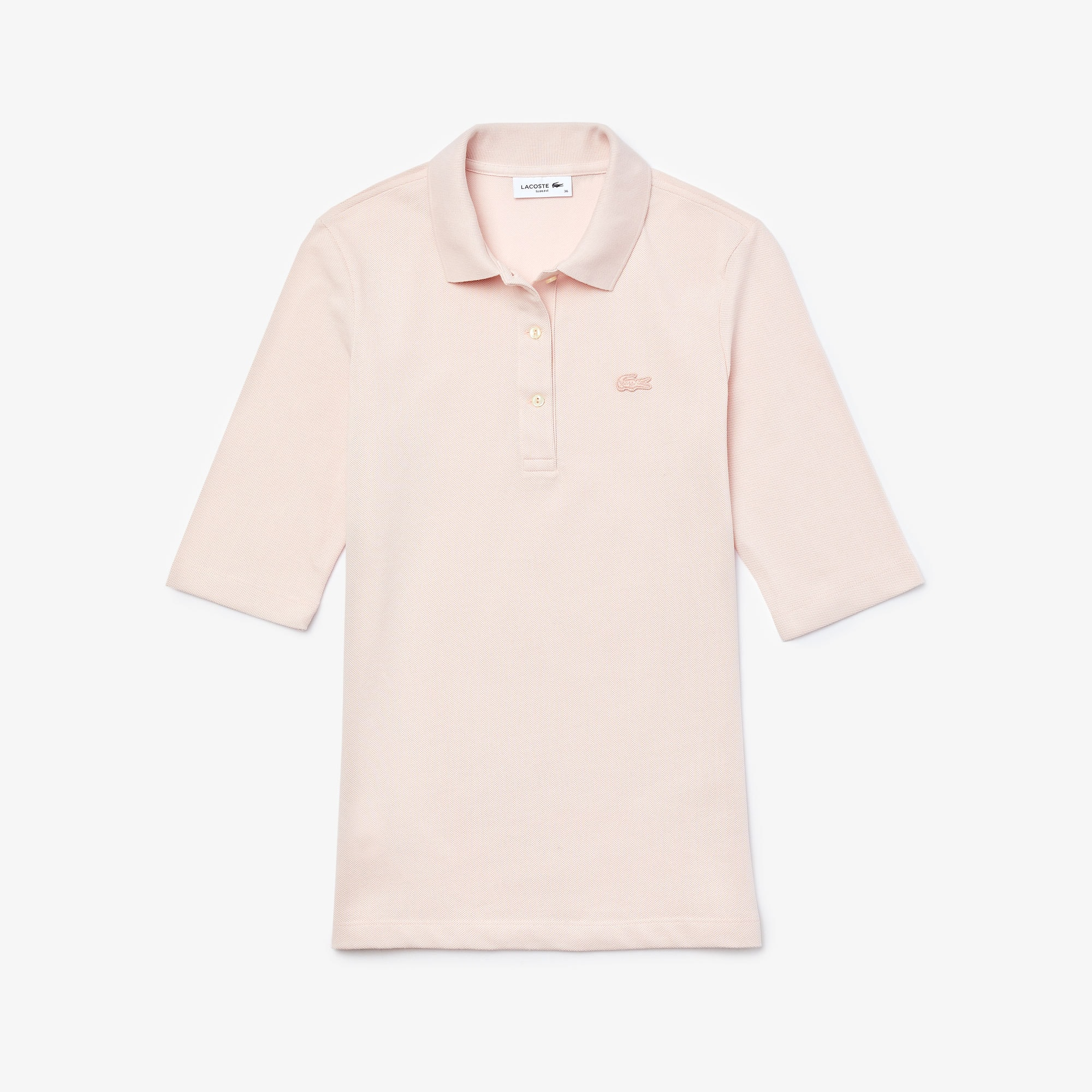 Women's Lacoste Classic Fit Supple Cotton Polo Shirt