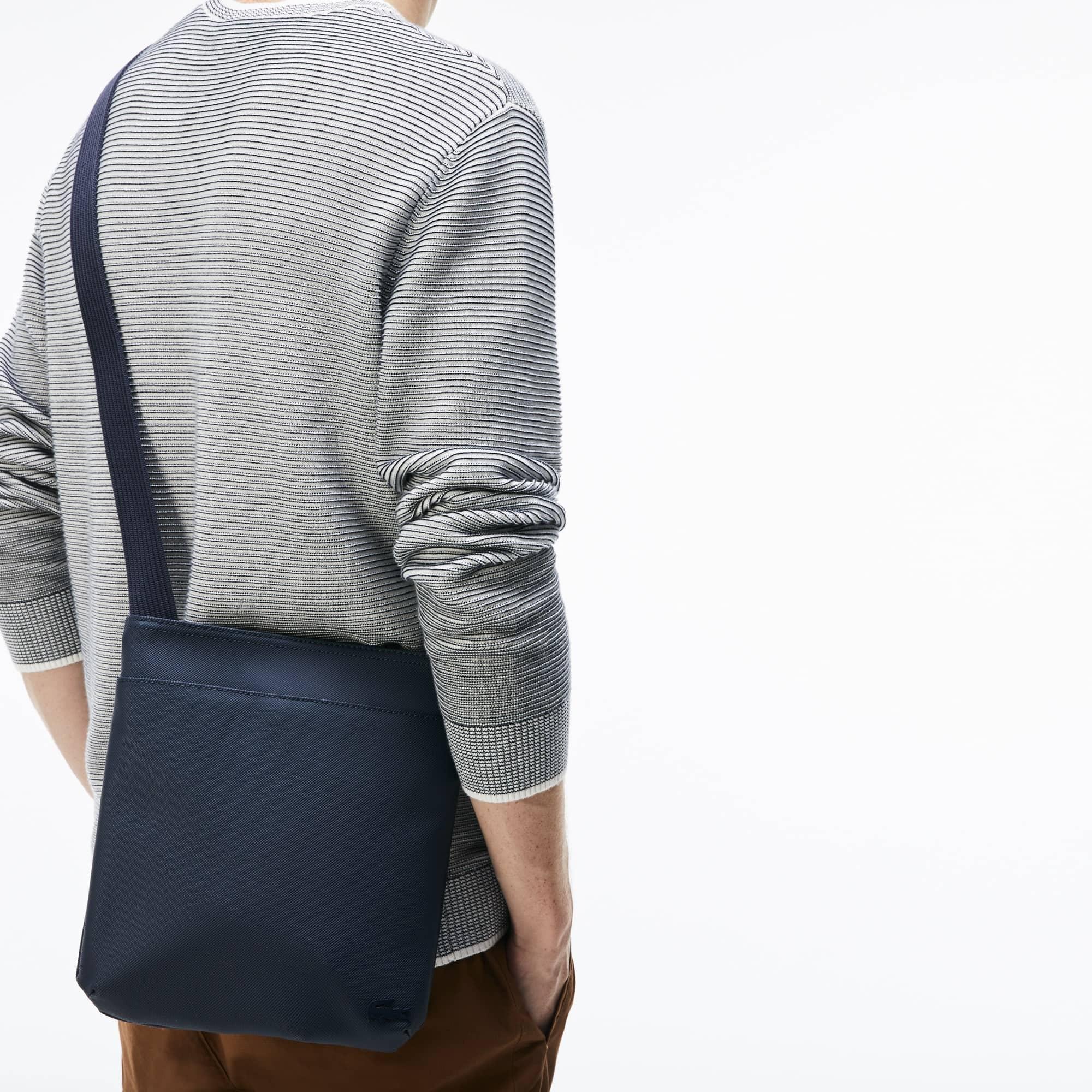 Lacoste - Flache Herren-Tasche CLASSIC aus Petit Piqué - 5
