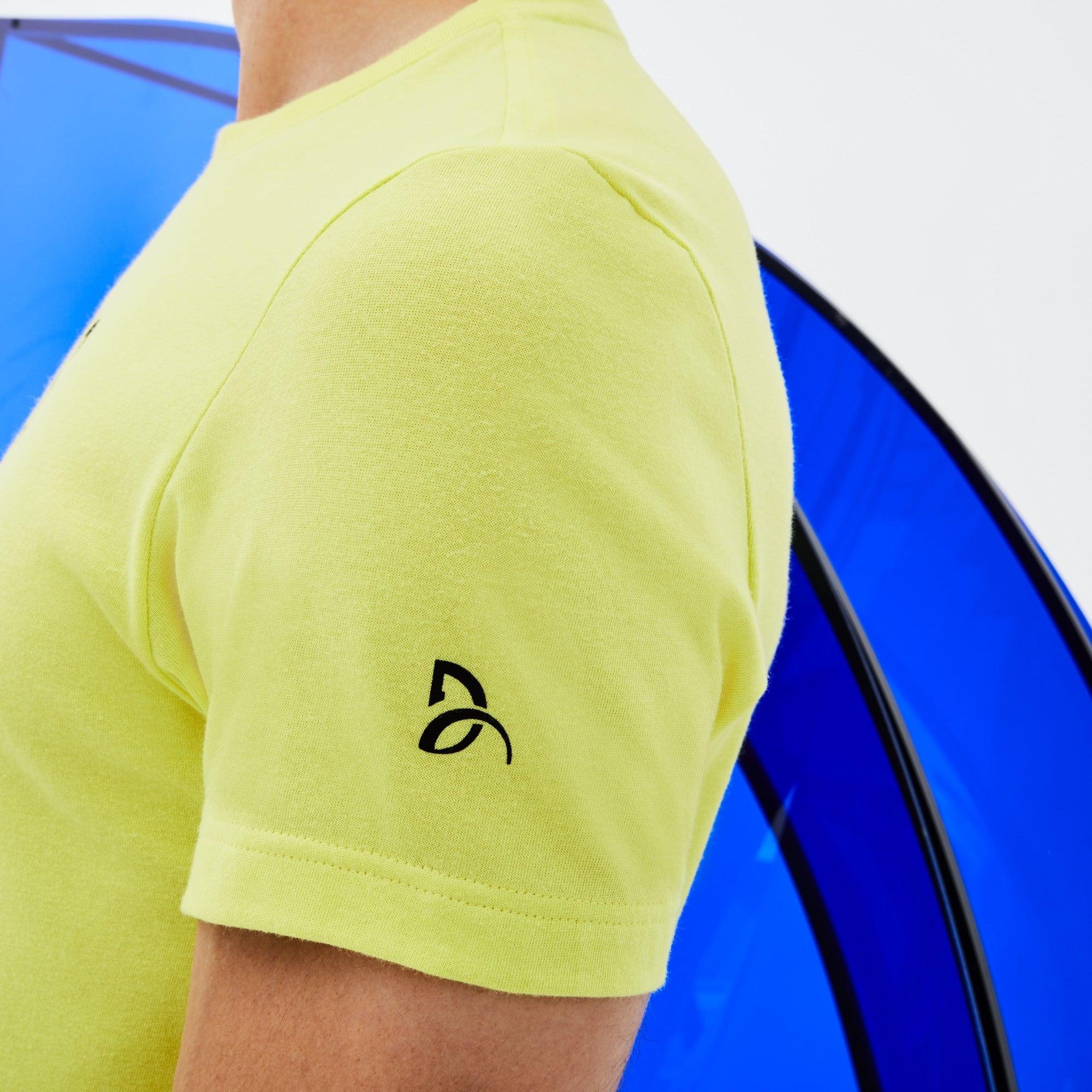 Lacoste - Herren Rundhals-T-Shirt aus Jersey mit Schriftzug LACOSTE SPORT - 6