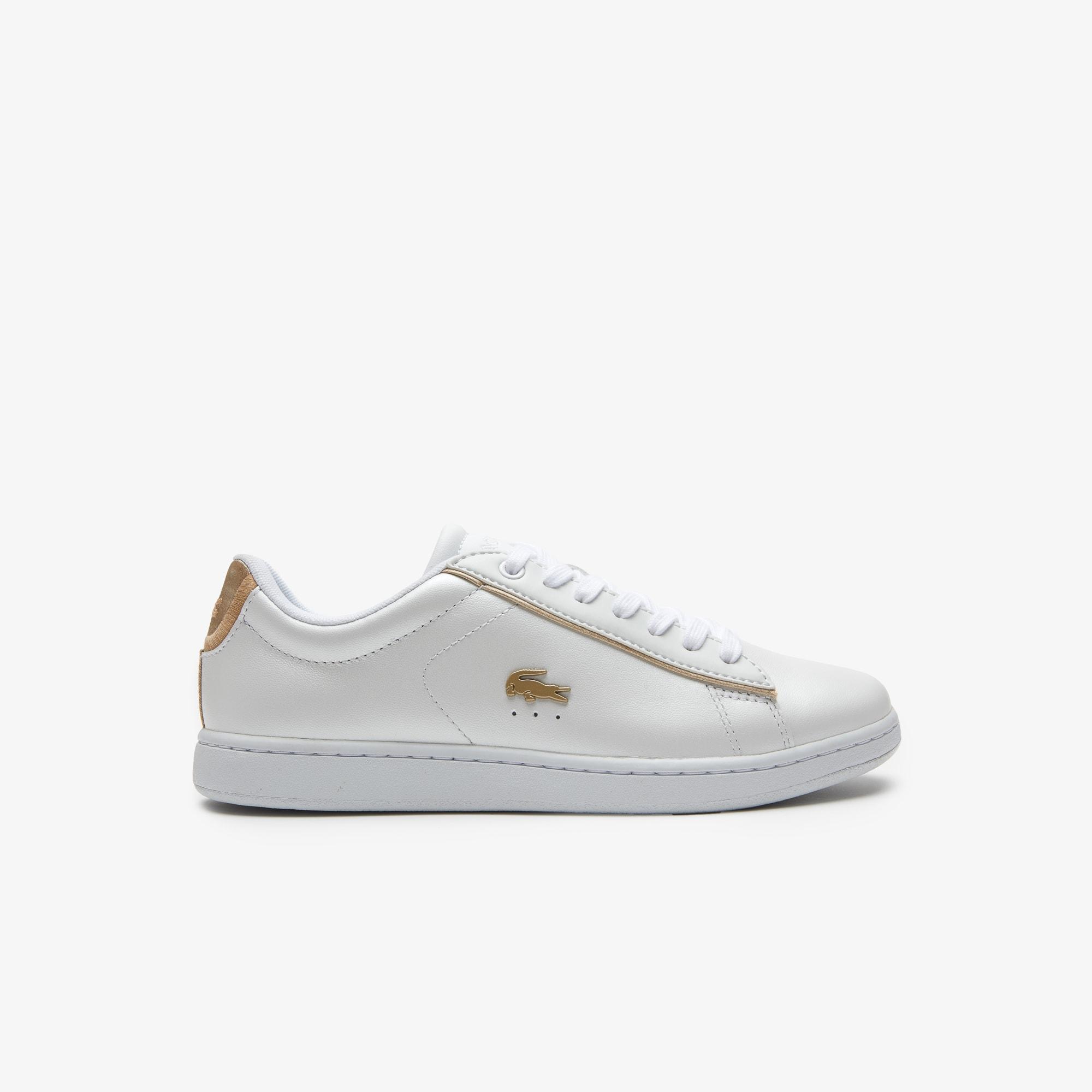 Damen-Sneakers CARNABY EVO aus Leder mit Perlglanz-Effekt