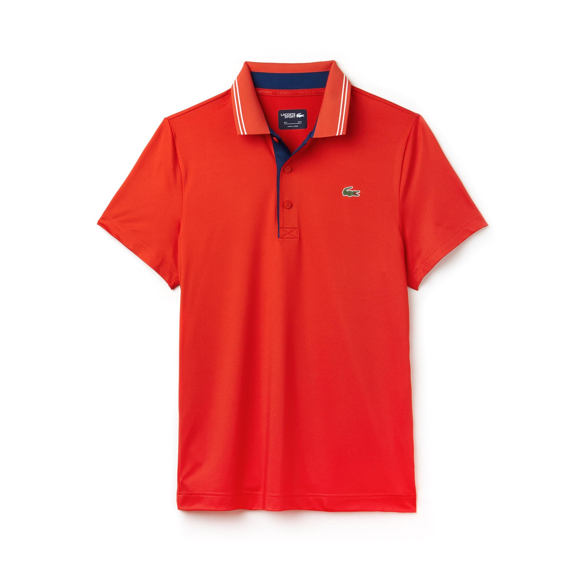 Lacoste - Herren LACOSTE SPORT Stretch Golf-Poloshirt mit Schriftzug - 3